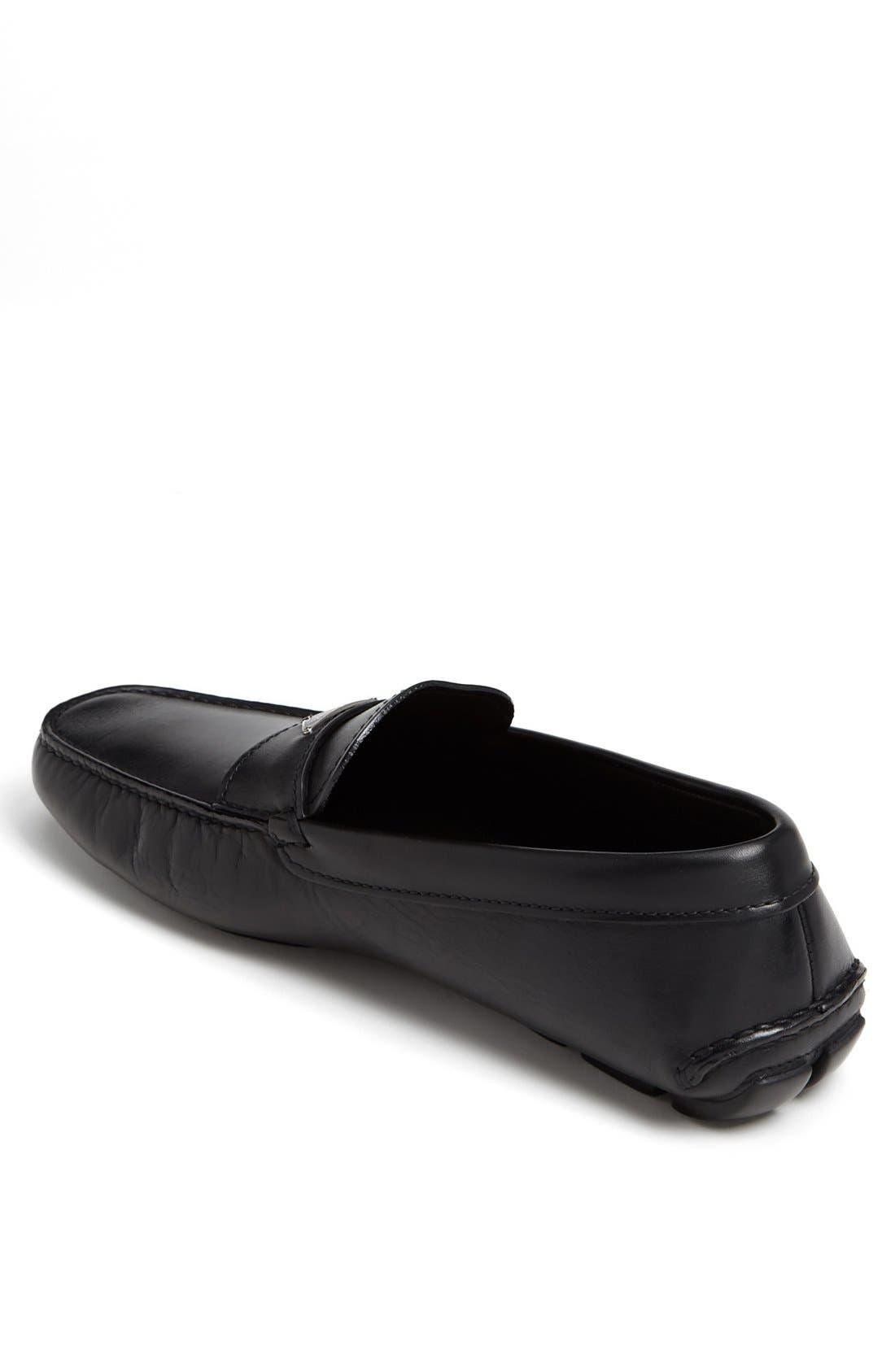 Alternate Image 2  - Prada Logo Bit Driving Shoe (Men)