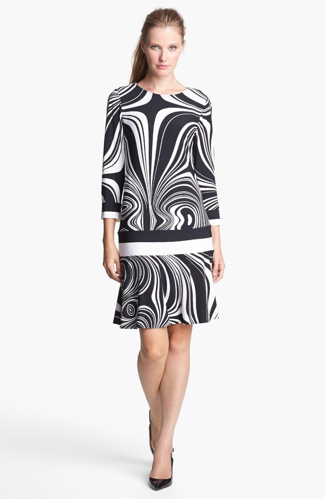Alternate Image 1 Selected - Donna Morgan Print Jersey Dress