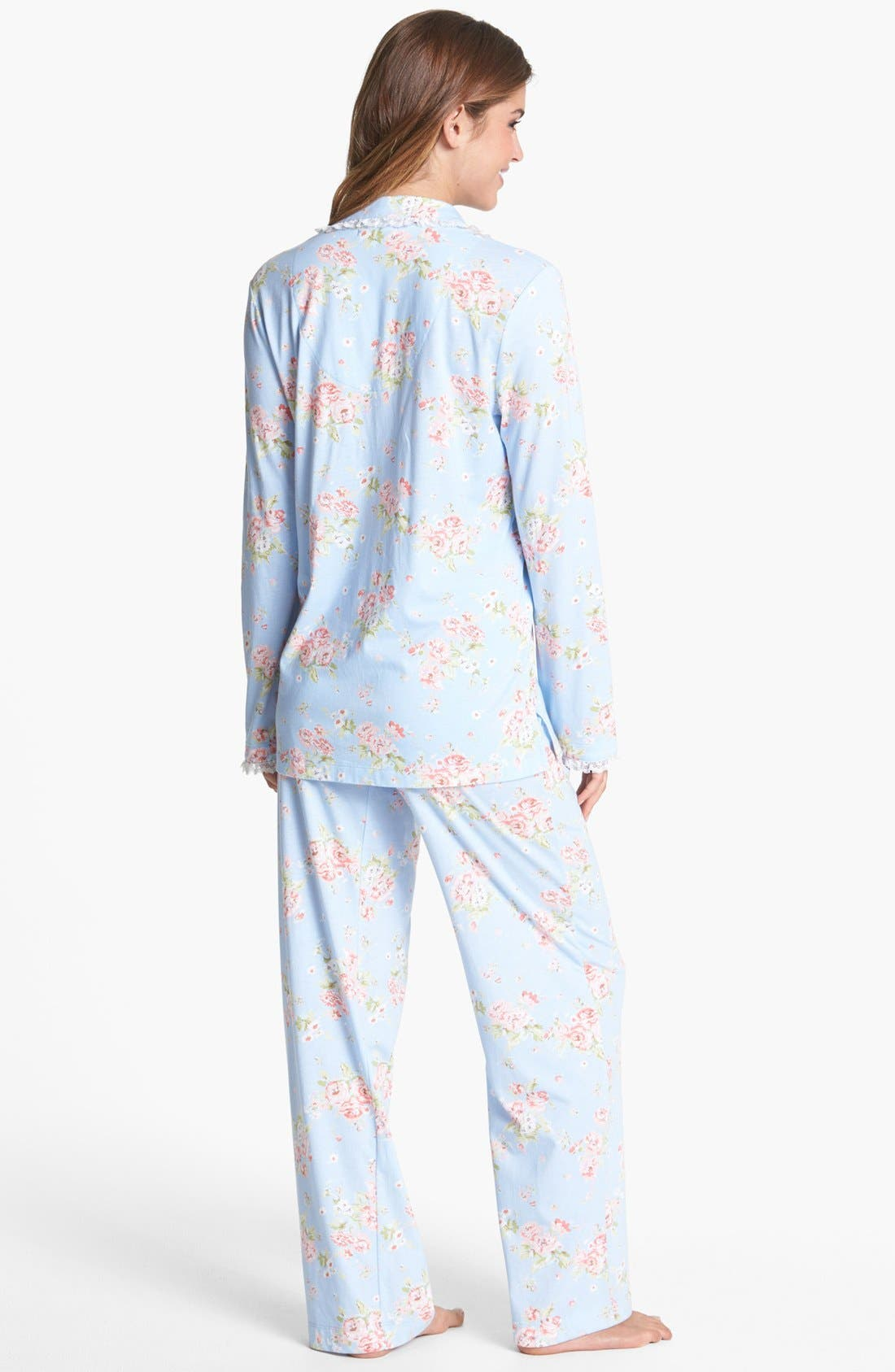Alternate Image 2  - Carole Hochman Designs 'Enchanted Gardens' Pajamas