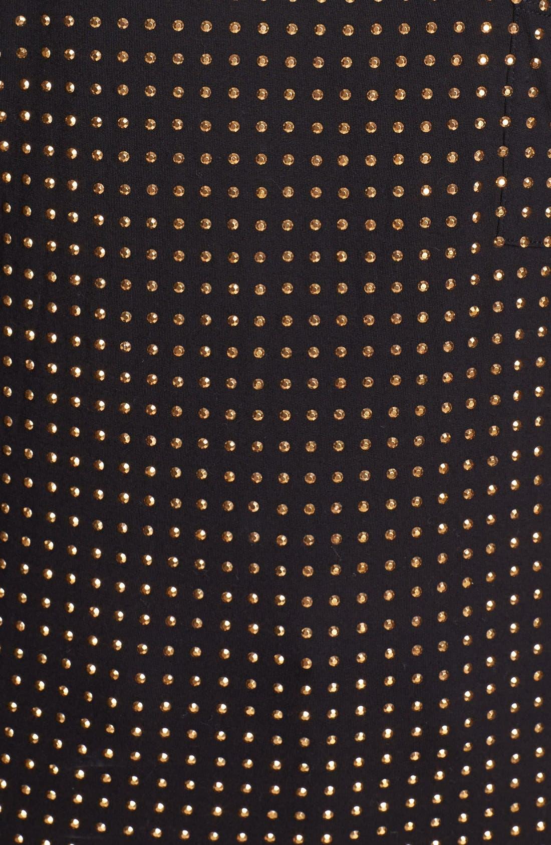 Alternate Image 3  - MICHAEL Michael Kors Studded Knit Top