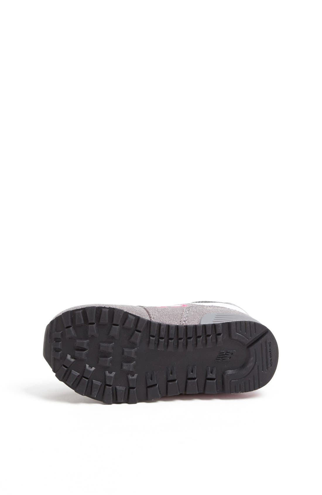 Alternate Image 4  - New Balance '574' Running Shoe (Baby, Walker & Toddler)