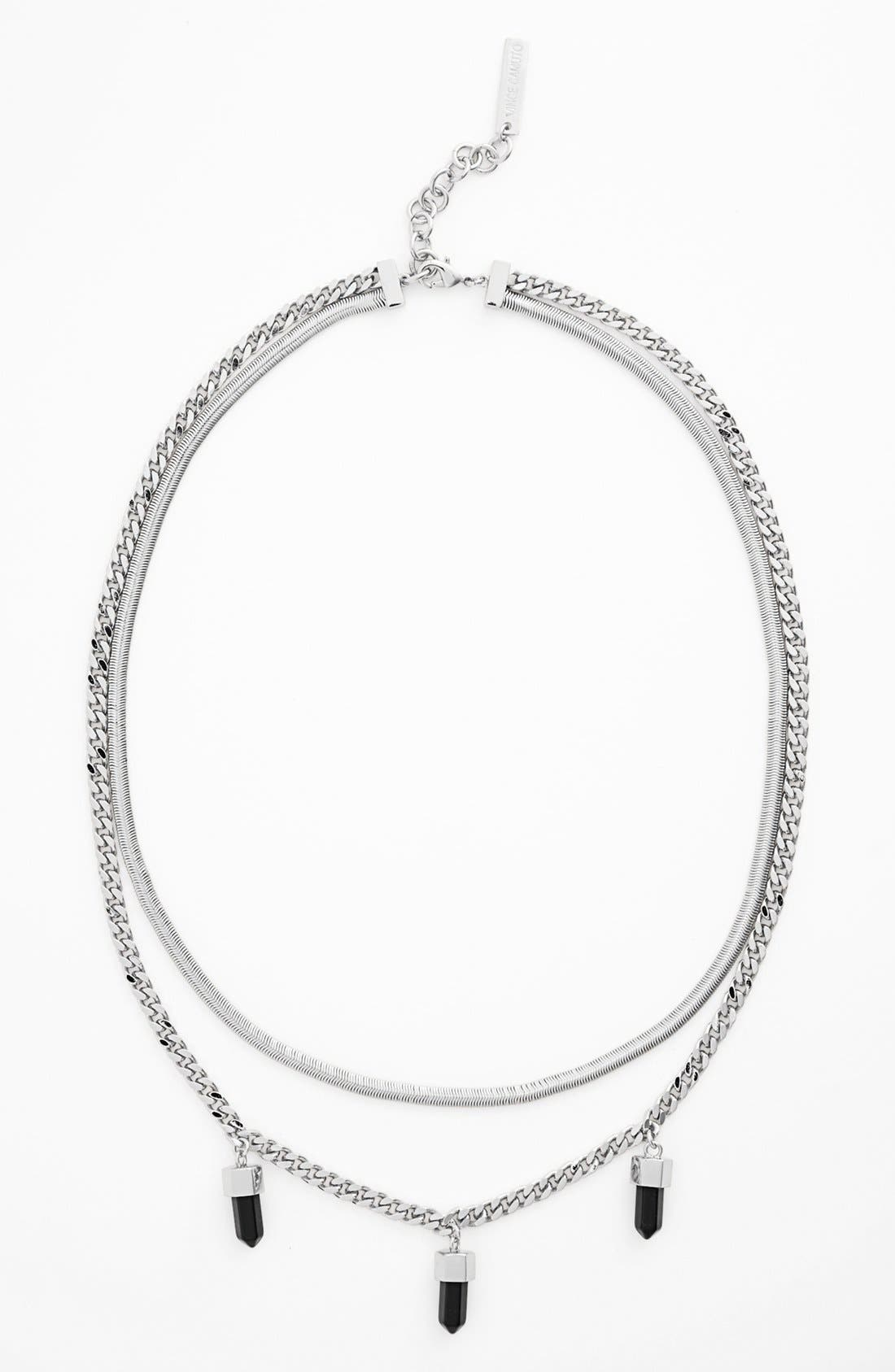 Alternate Image 1 Selected - Vince Camuto 'Bullet Proof' Multistrand Necklace