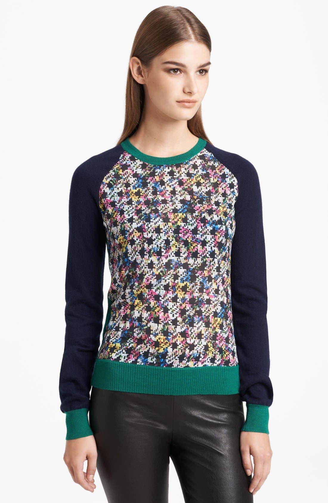 Alternate Image 1 Selected - Erdem Raglan Sleeve Sweater