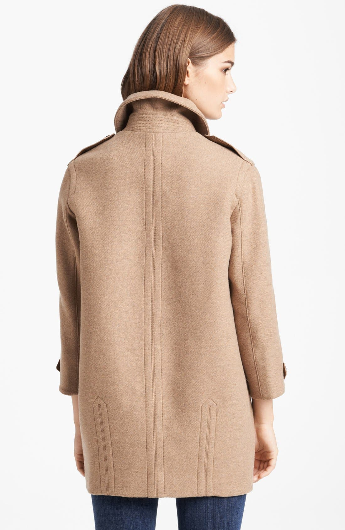 Alternate Image 2  - Burberry Brit 'Busby' Double Breasted Coat