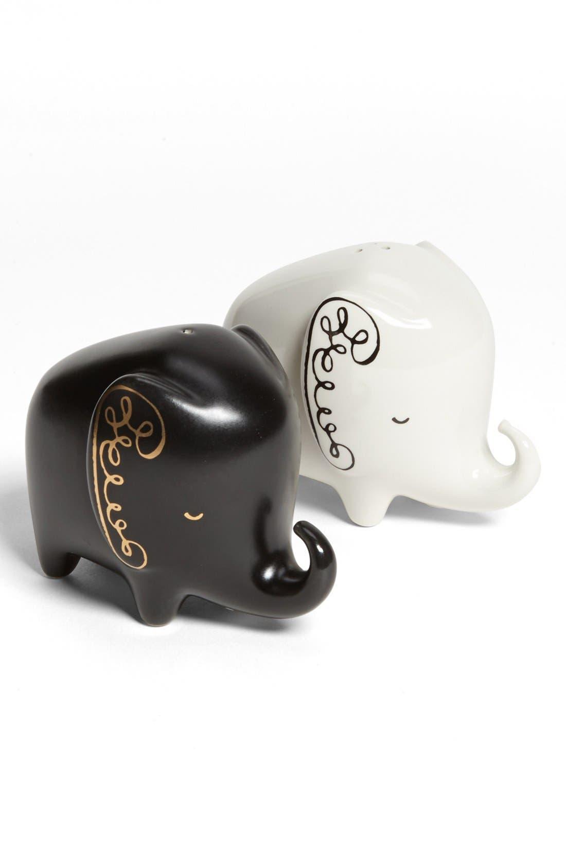 Alternate Image 1 Selected - kate spade new york elephant salt & pepper shakers
