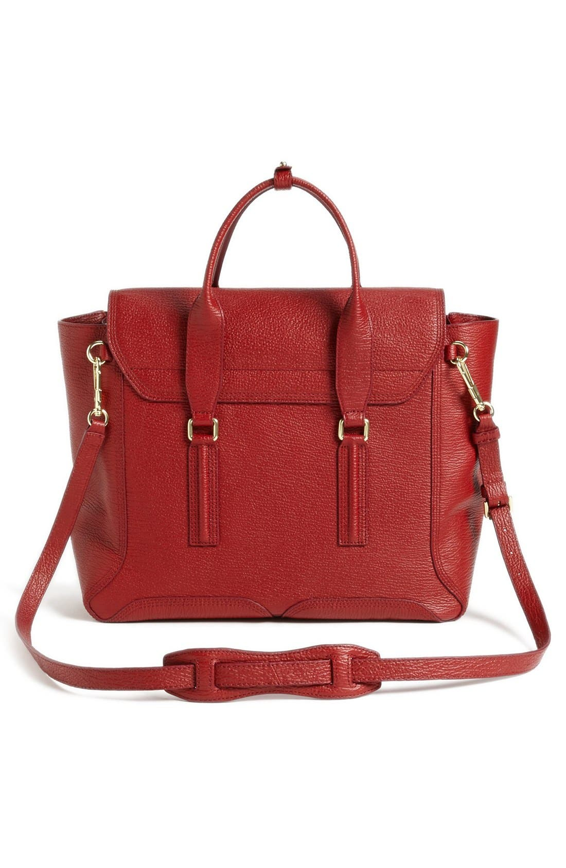 Alternate Image 5  - 3.1 Phillip Lim 'Pashli' Shark Embossed Leather Satchel