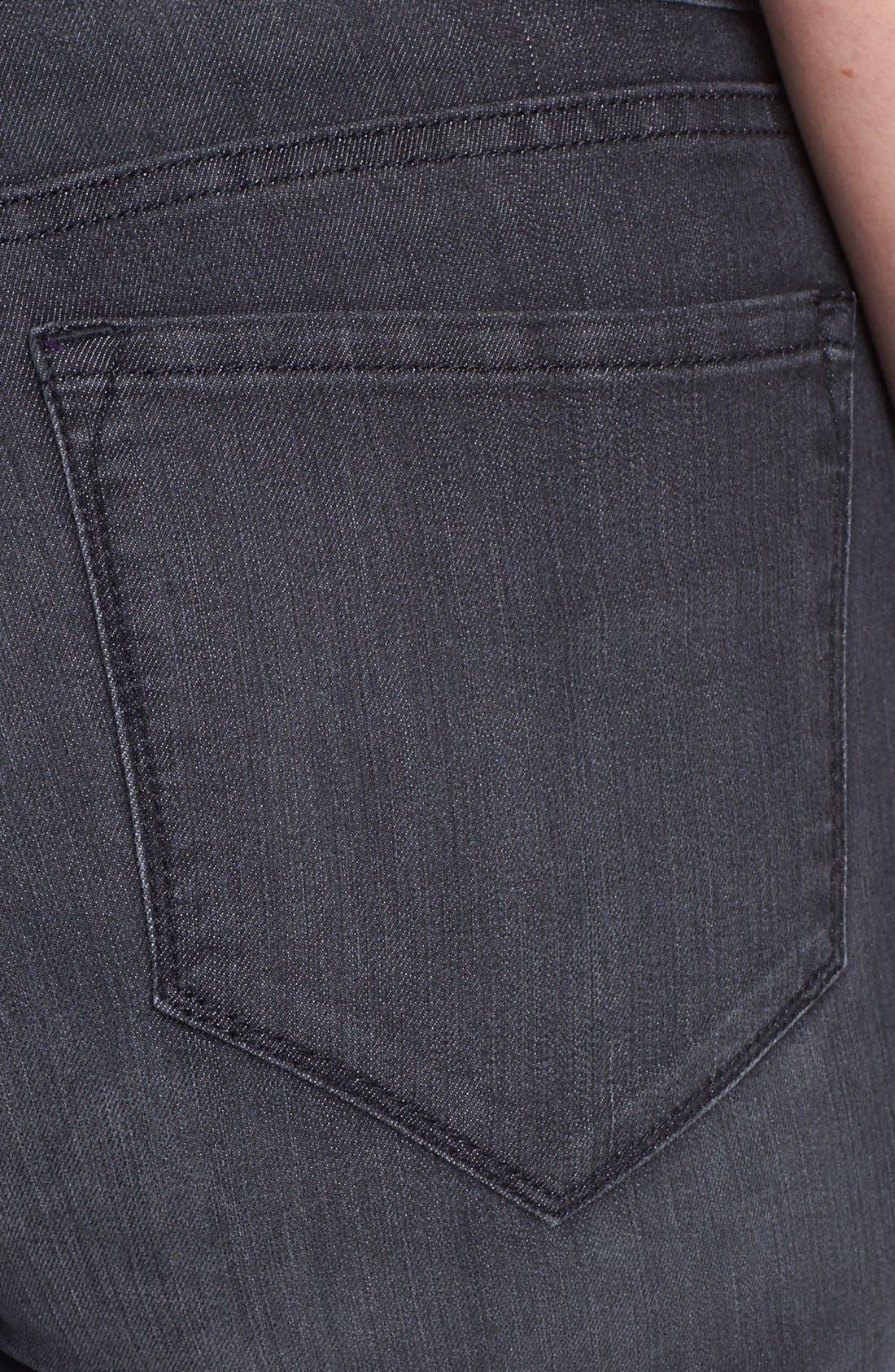 Alternate Image 3  - NYDJ 'Marilyn' Straight Leg Jeans (Plus Size)