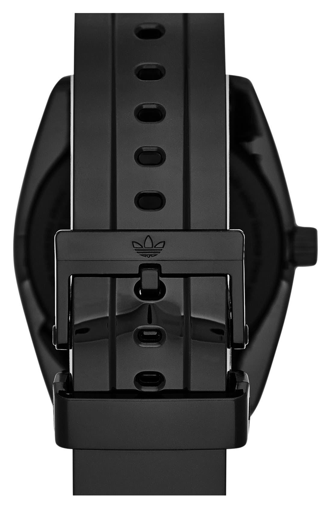 Alternate Image 2  - adidas Originals 'Santiago' Neon Accent Watch, 42mm
