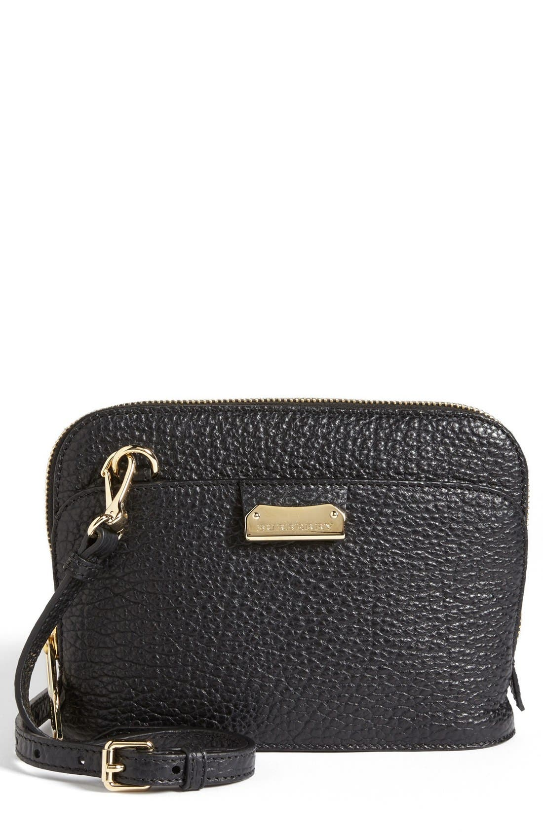 Main Image - Burberry 'Small Harrogate' Leather Crossbody Bag