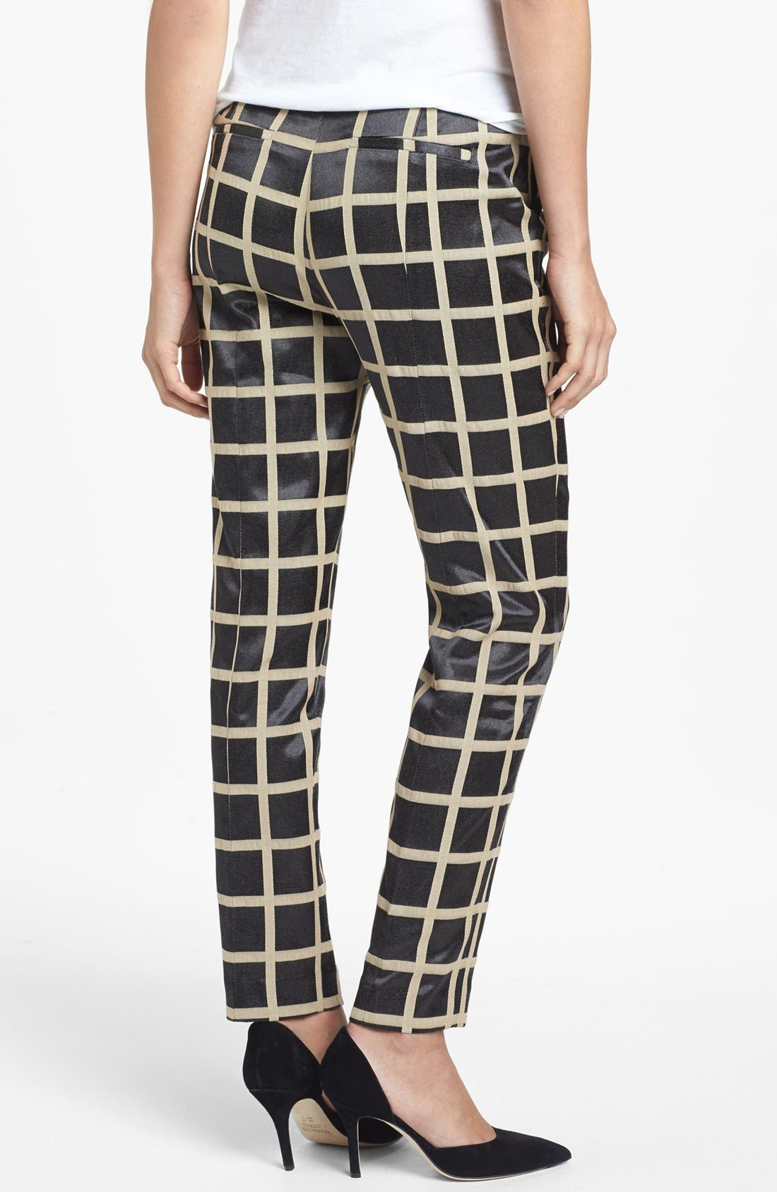 Alternate Image 2  - Halogen® 'Quinn' Skinny Ankle Pants (Regular & Petite)