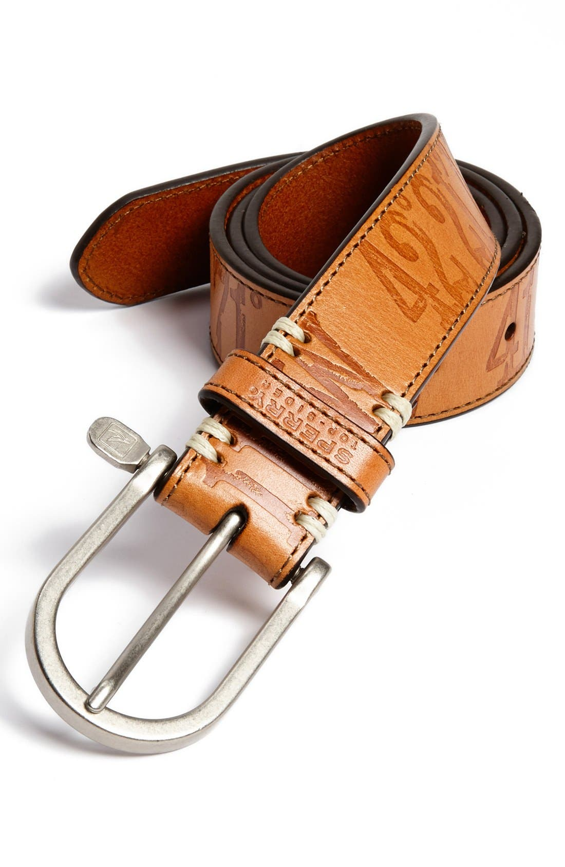 Alternate Image 1 Selected - Sperry Top-Sider® Leather Belt