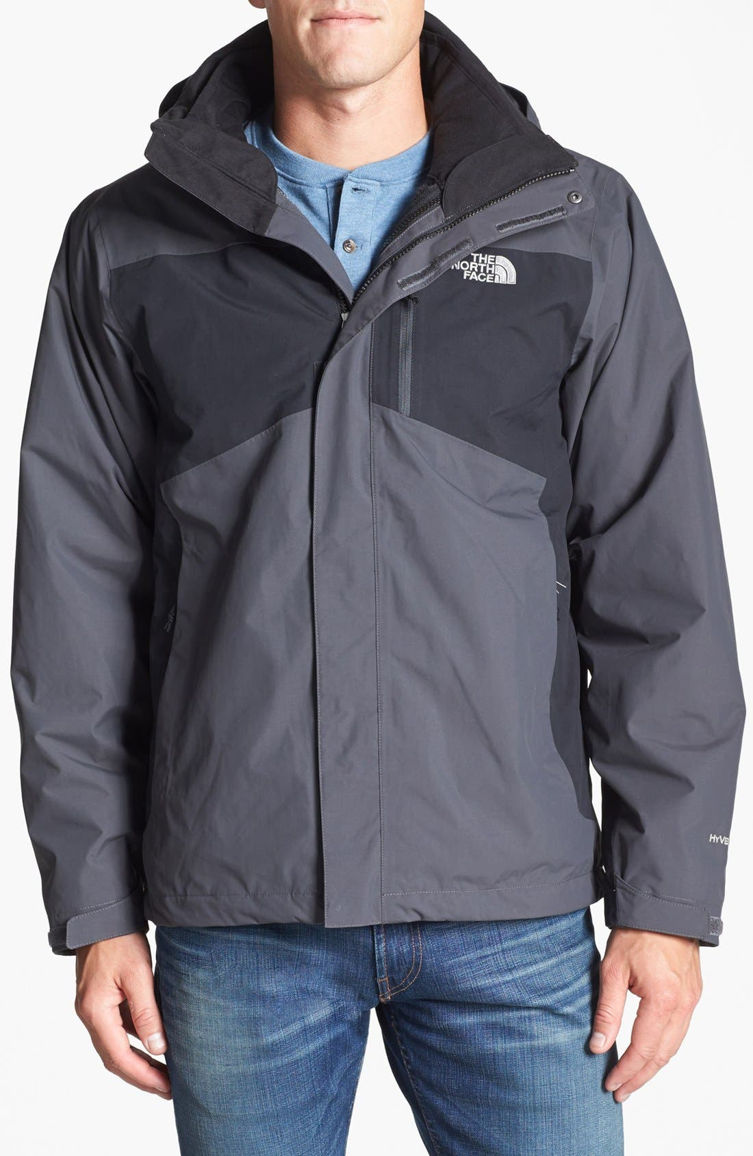 Alternate Image 1 Selected - The North Face 'Tiberius TriClimate®' Hooded Waterproof Jacket