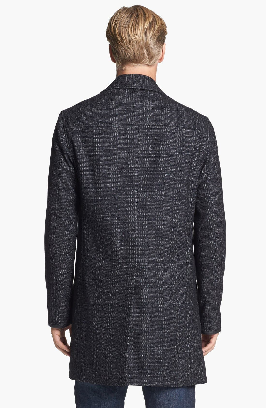 Alternate Image 2  - John Varvatos Star USA Wool Topcoat