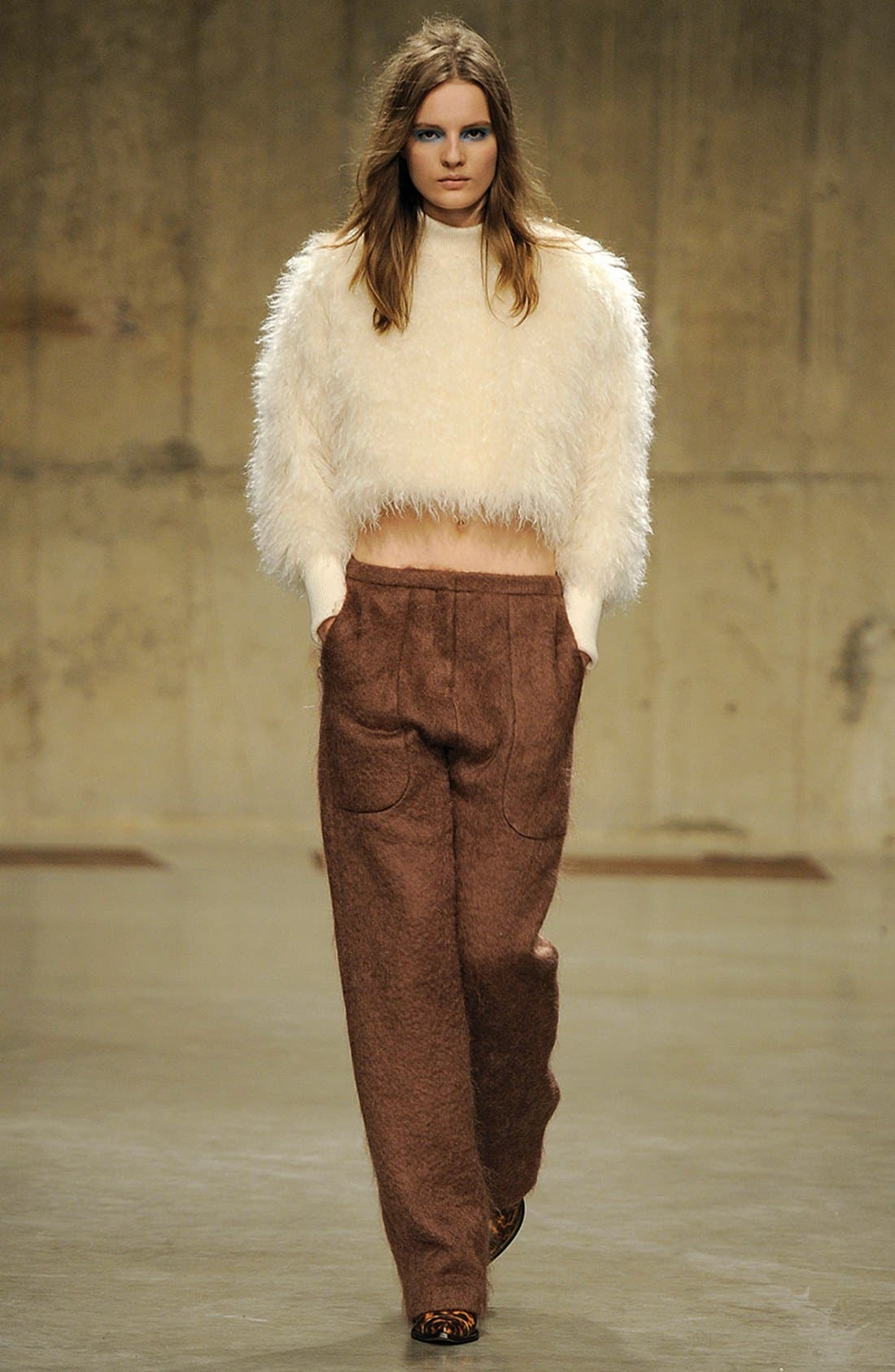 Alternate Image 2  - Topshop Unique Genuine Lamb Shearling Sweater