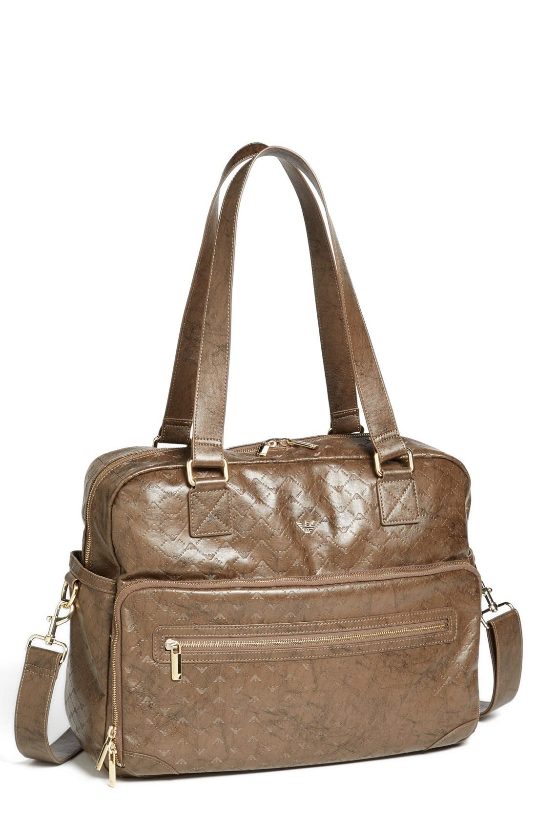 Alternate Image 1 Selected - Armani Junior Diaper Bag