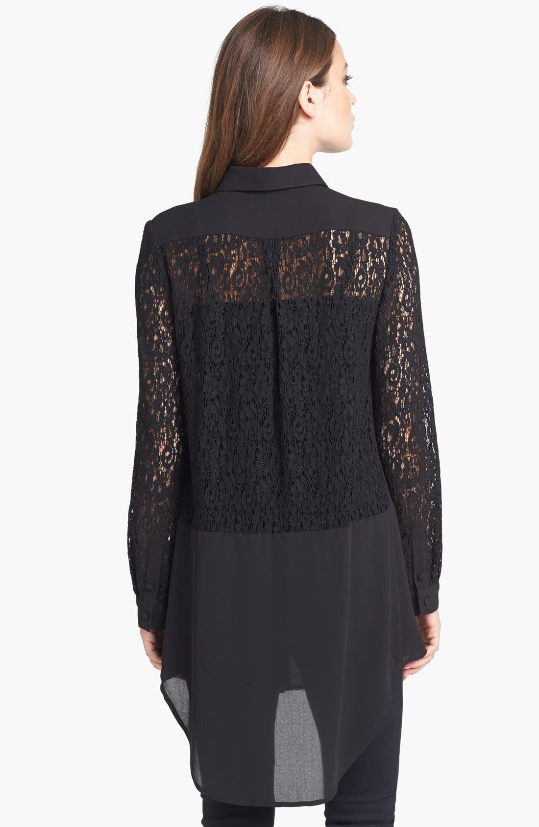 Alternate Image 2  - Alberto Makali Lace Tunic