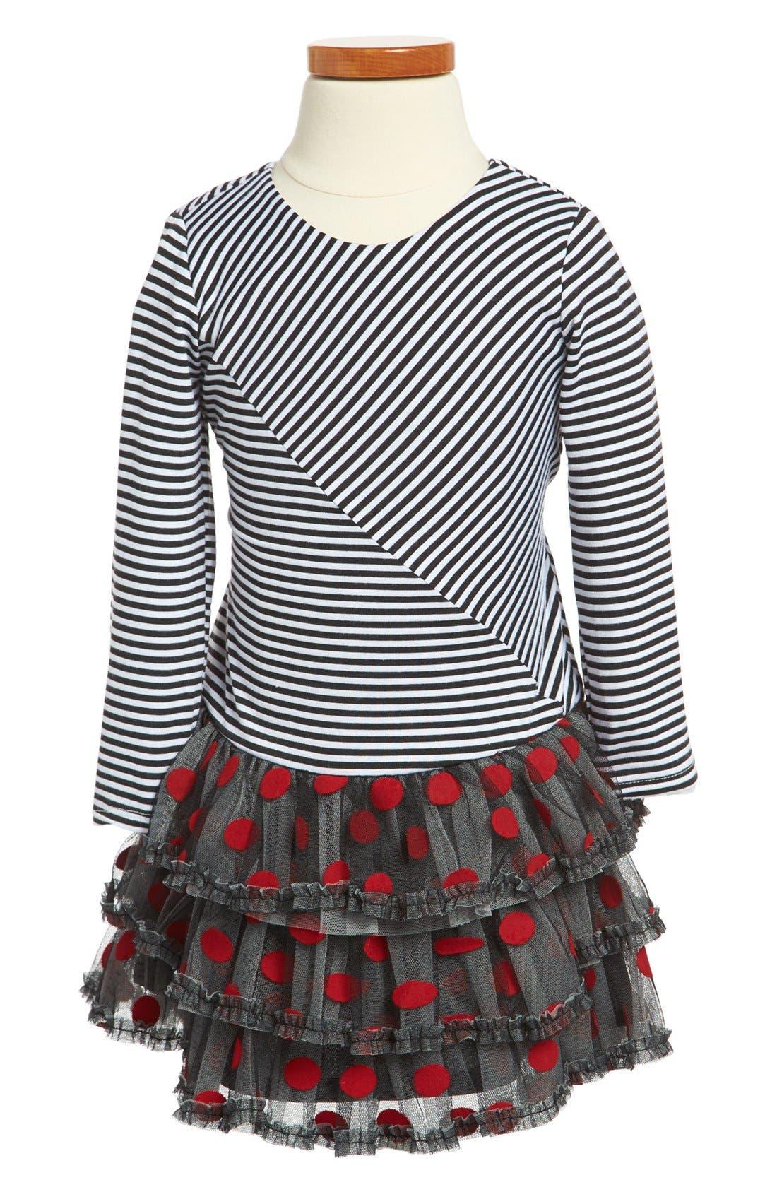 Alternate Image 1 Selected - Isobella & Chloe Tulle Dress (Toddler Girls)
