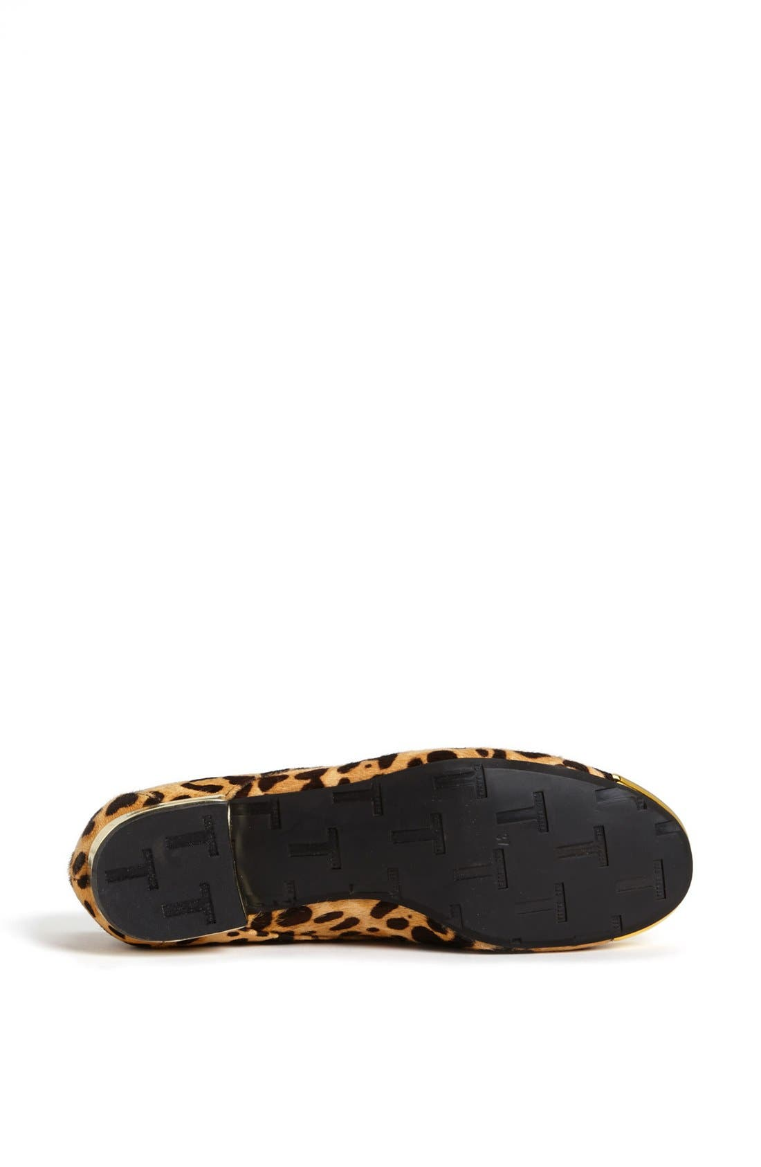 Alternate Image 4  - Ted Baker London 'Kape 2' Genuine Calf Hair Flat