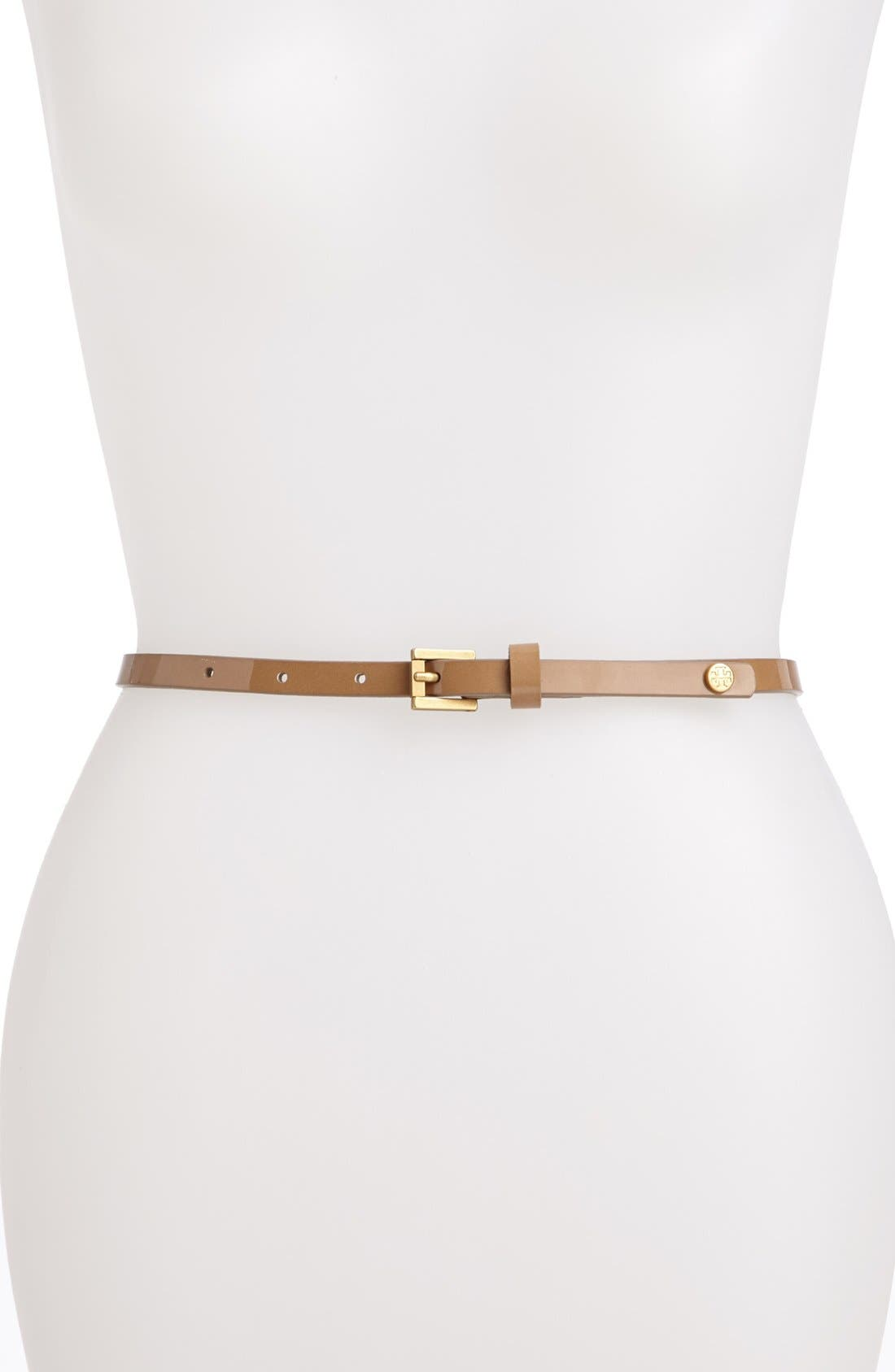 Alternate Image 1 Selected - Tory Burch Patent Leather Belt
