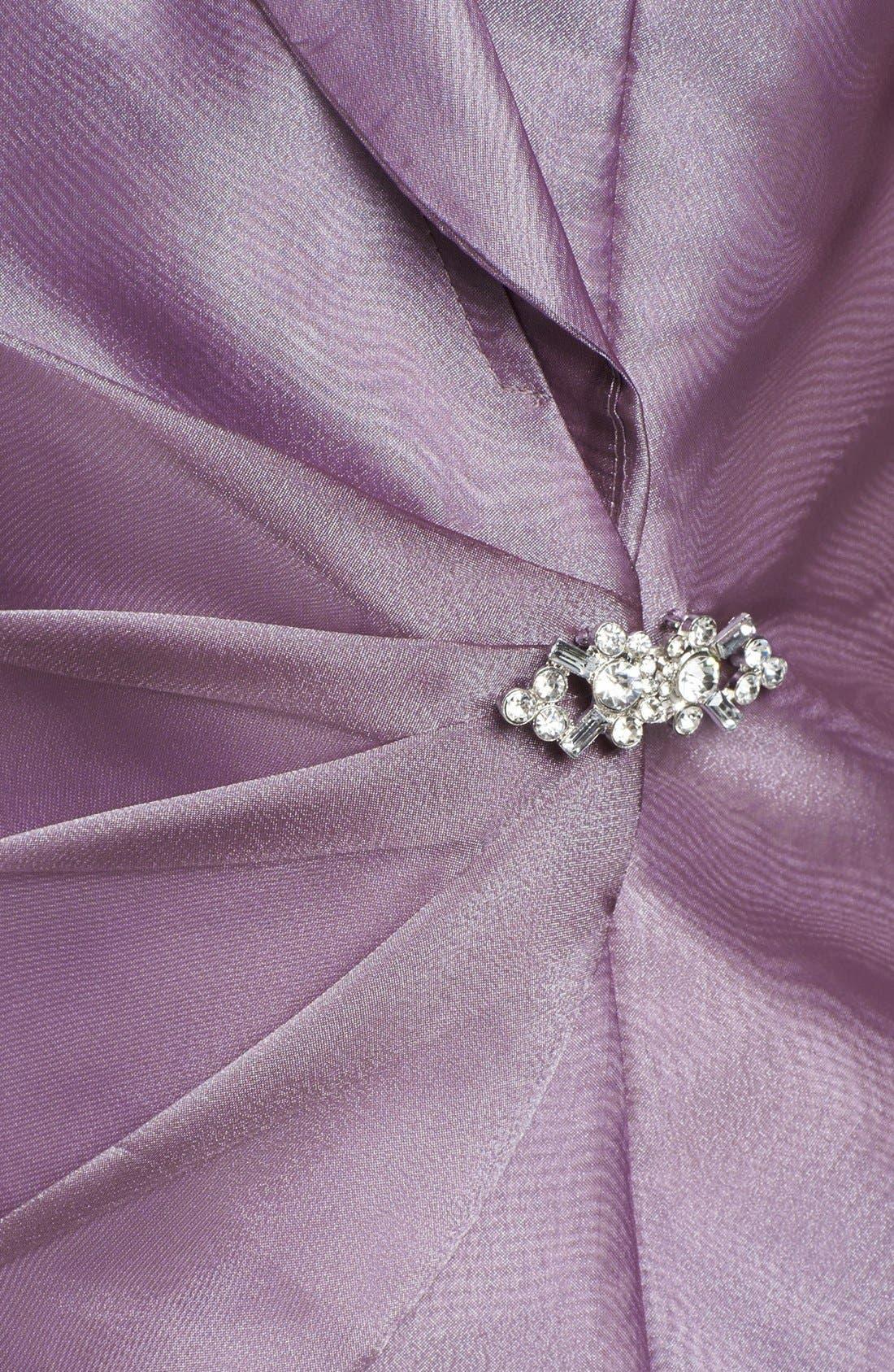 Alternate Image 3  - Alex Evenings Embellished Wrap Blouse (Petite)