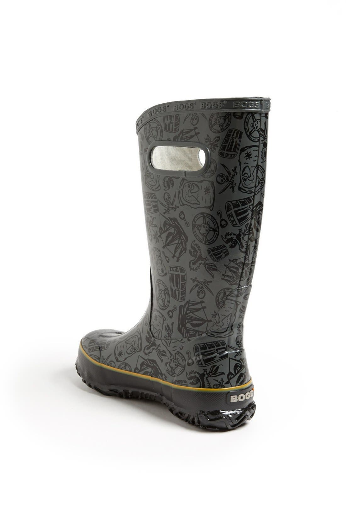 Alternate Image 2  - Bogs 'Pirate' Rain Boot (Walker, Toddler, Little Kid & Big Kid)