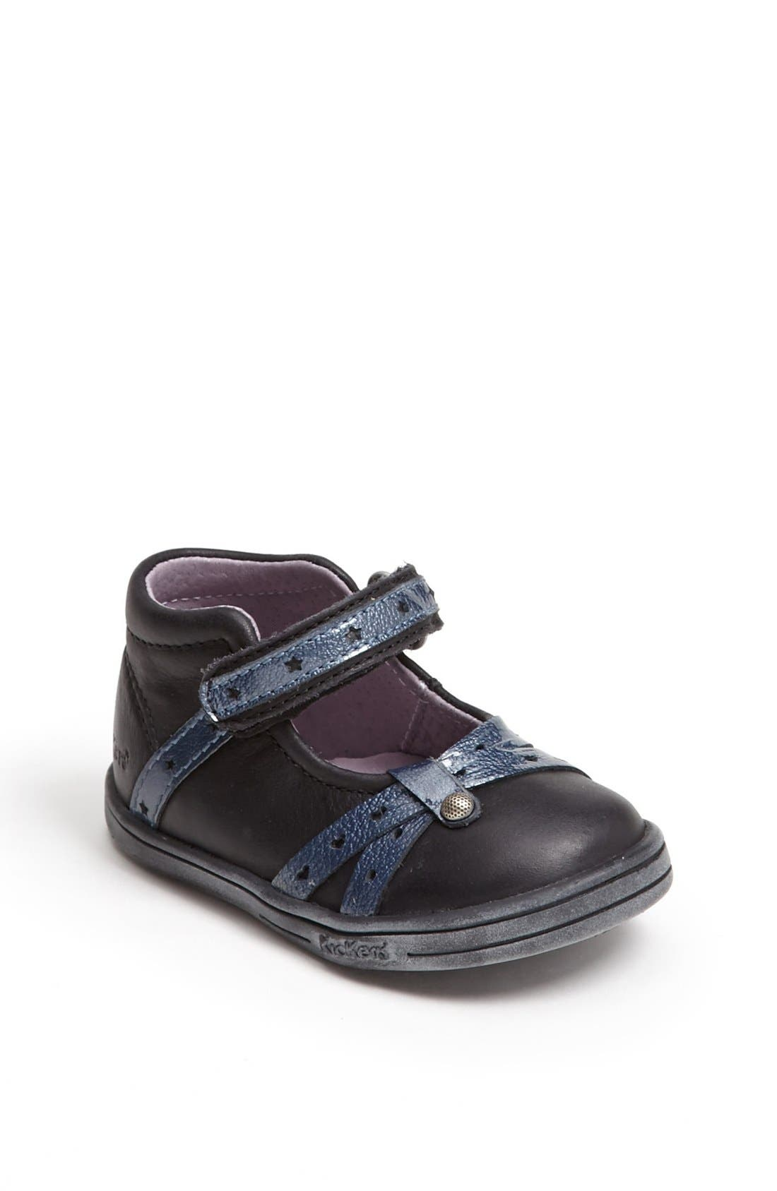 Alternate Image 1 Selected - Kickers 'Tresor' Mary Jane (Baby, Walker & Toddler)