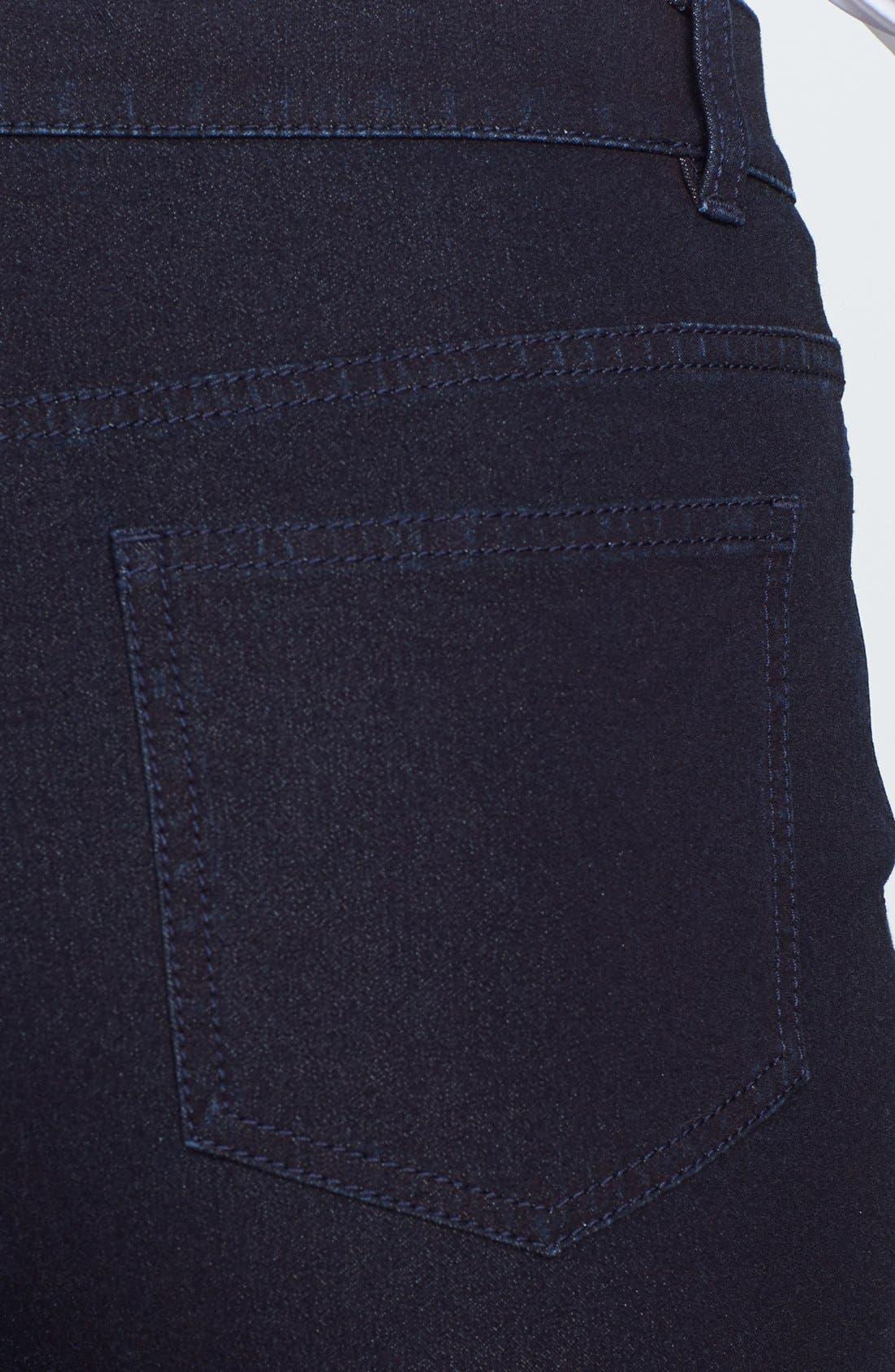 Alternate Image 3  - Lafayette 148 New York Slim Leg Curvy Stretch Jeans