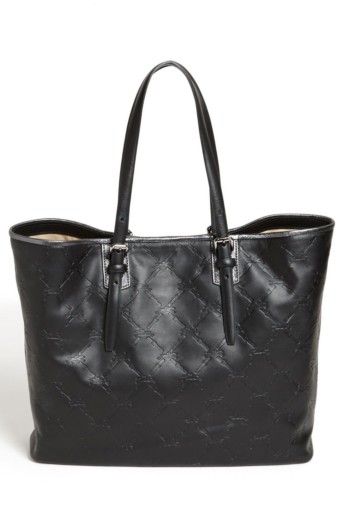 Alternate Image 4  - Longchamp 'LM Cuir - Medium' Leather Tote