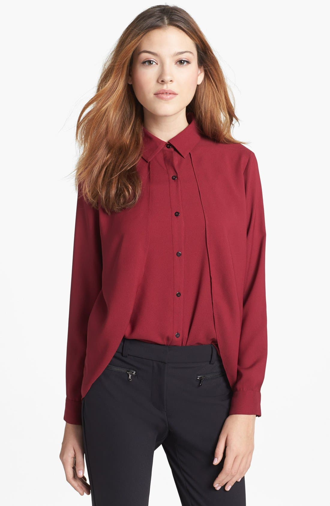 Alternate Image 1 Selected - Kenneth Cole New York 'Filomena' Blouse (Petite)
