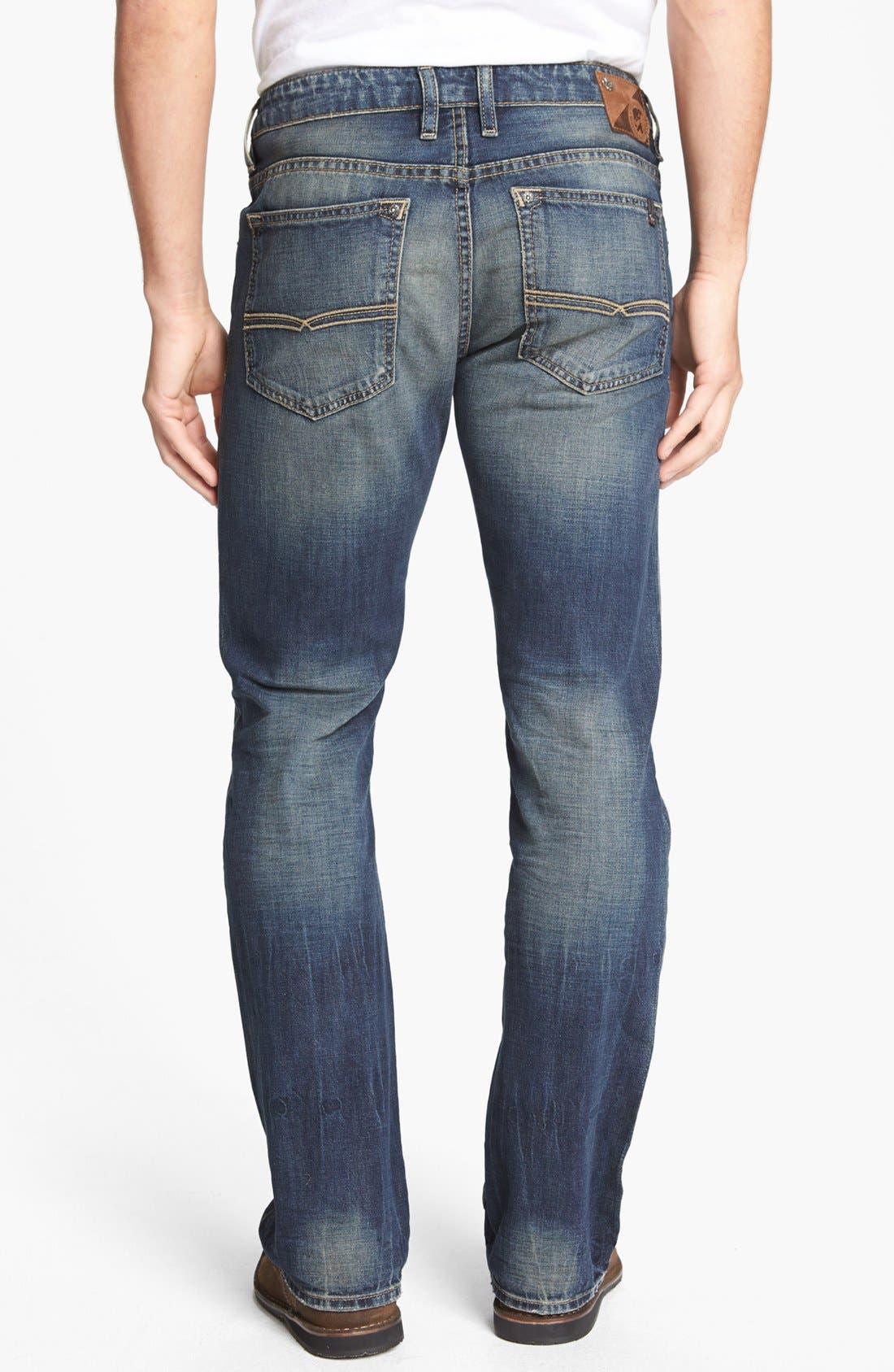 Alternate Image 2  - Buffalo Jeans 'Six' Straight Leg Jeans (Indigo)