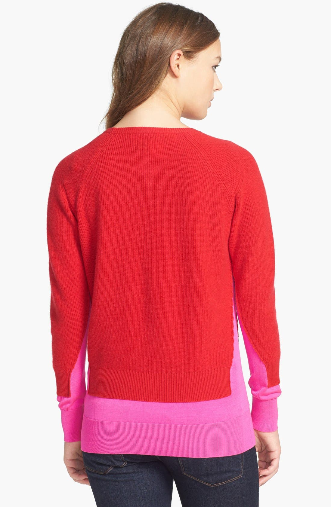 Alternate Image 2  - MARC BY MARC JACOBS 'Bella' Crewneck Cashmere & Silk Sweater