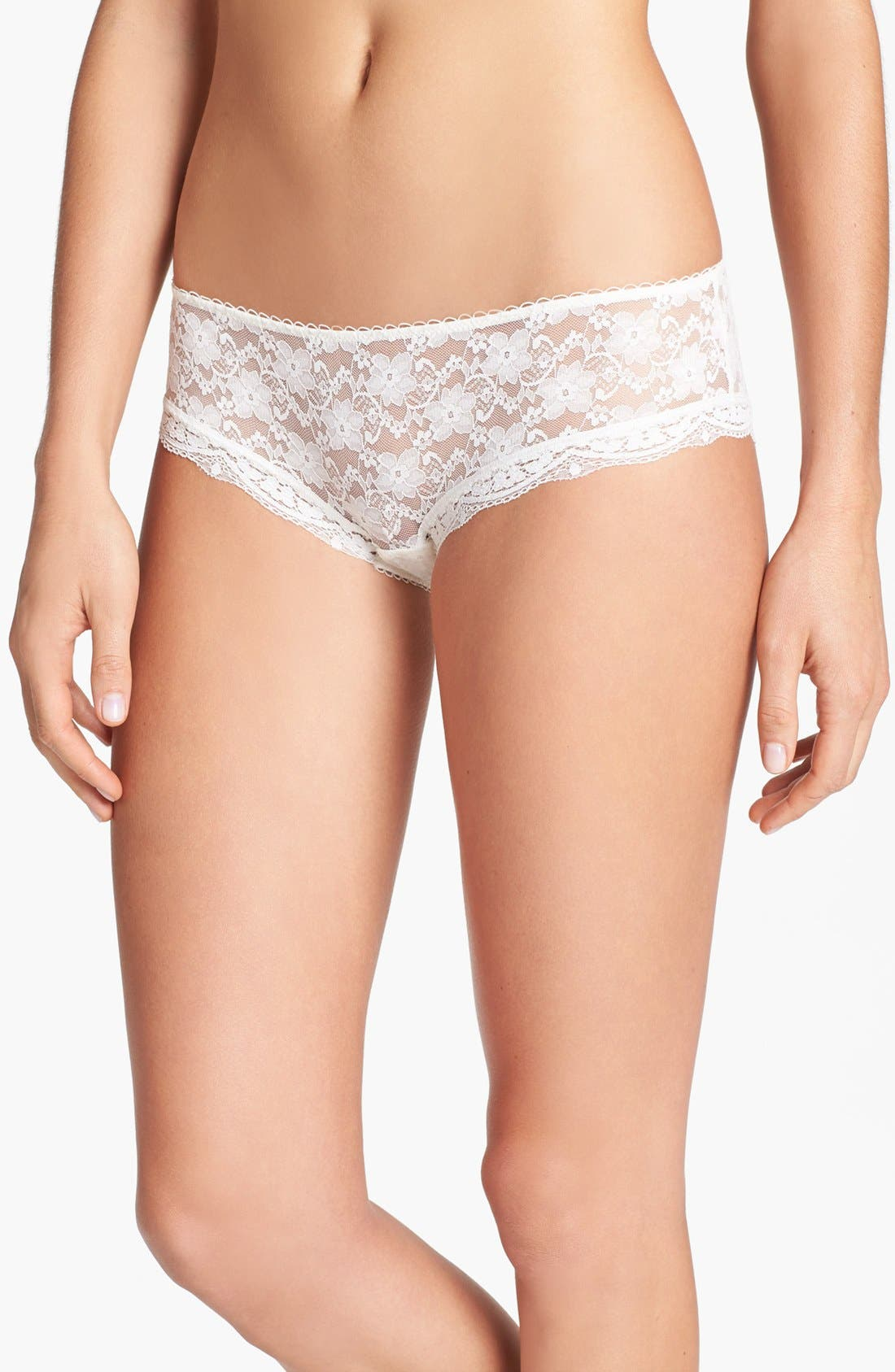 Main Image - Free People Lace Hipster Briefs (3 for $33)