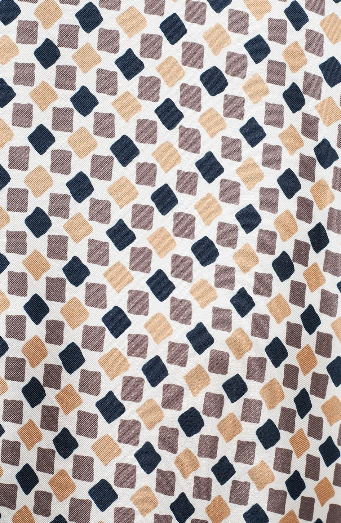 Alternate Image 3  - Nina Ricci Geometric Print Silk A-Line Skirt