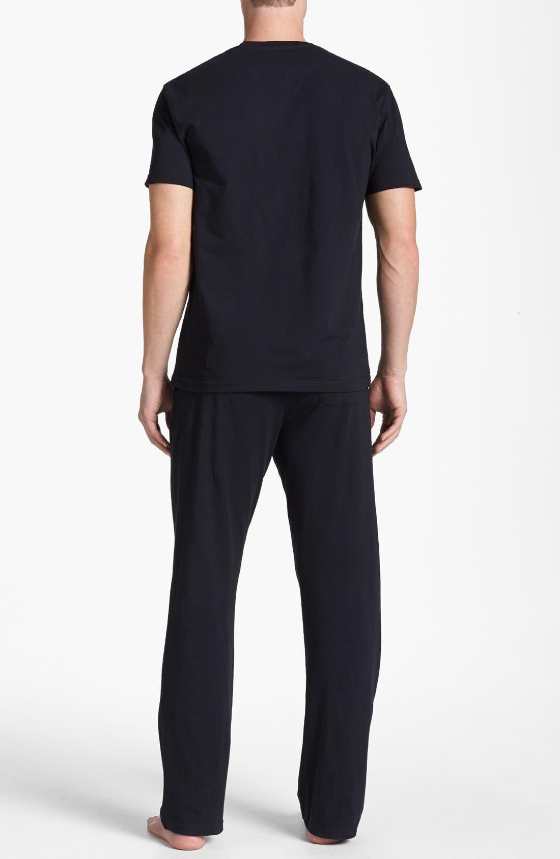Alternate Image 2  - Nordstrom Stretch Cotton Pajama Set