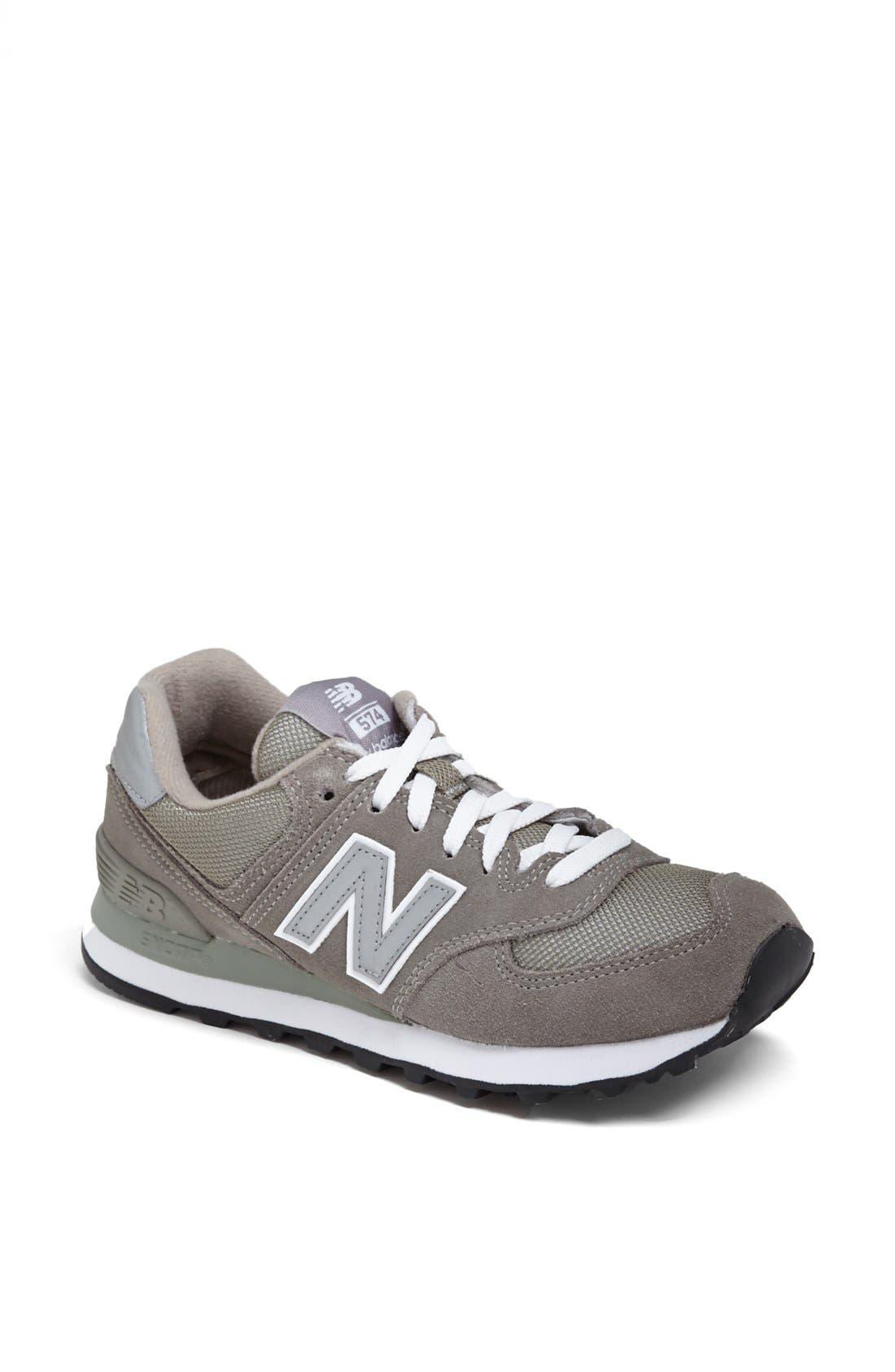 Alternate Image 1 Selected - New Balance '574' Sneaker (Women)