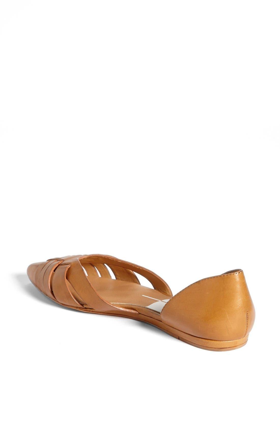 Alternate Image 2  - Dolce Vita 'Alpha' Leather Flat Sandal