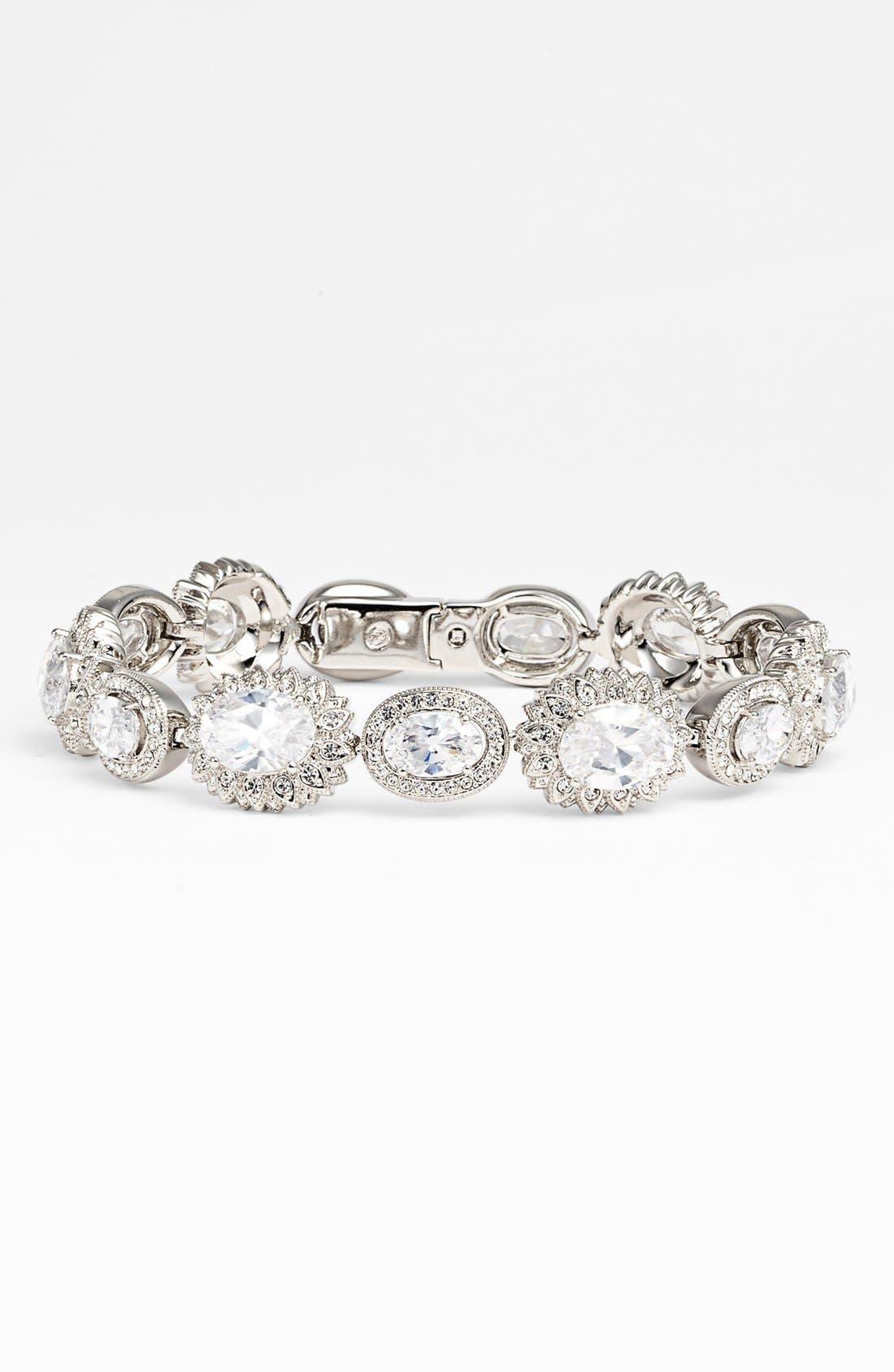 Alternate Image 1 Selected - Nadri Floral Line Bracelet