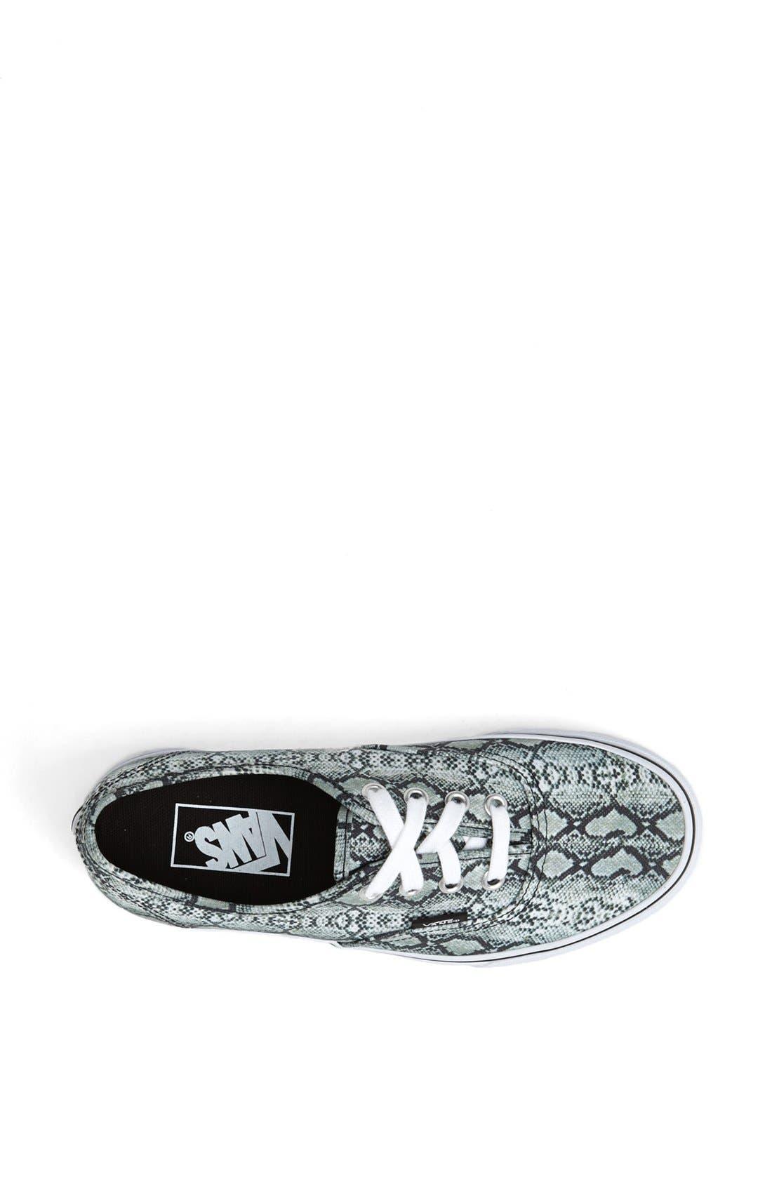 Alternate Image 3  - Vans 'Authentic - Snake Print' Sneaker (Women)