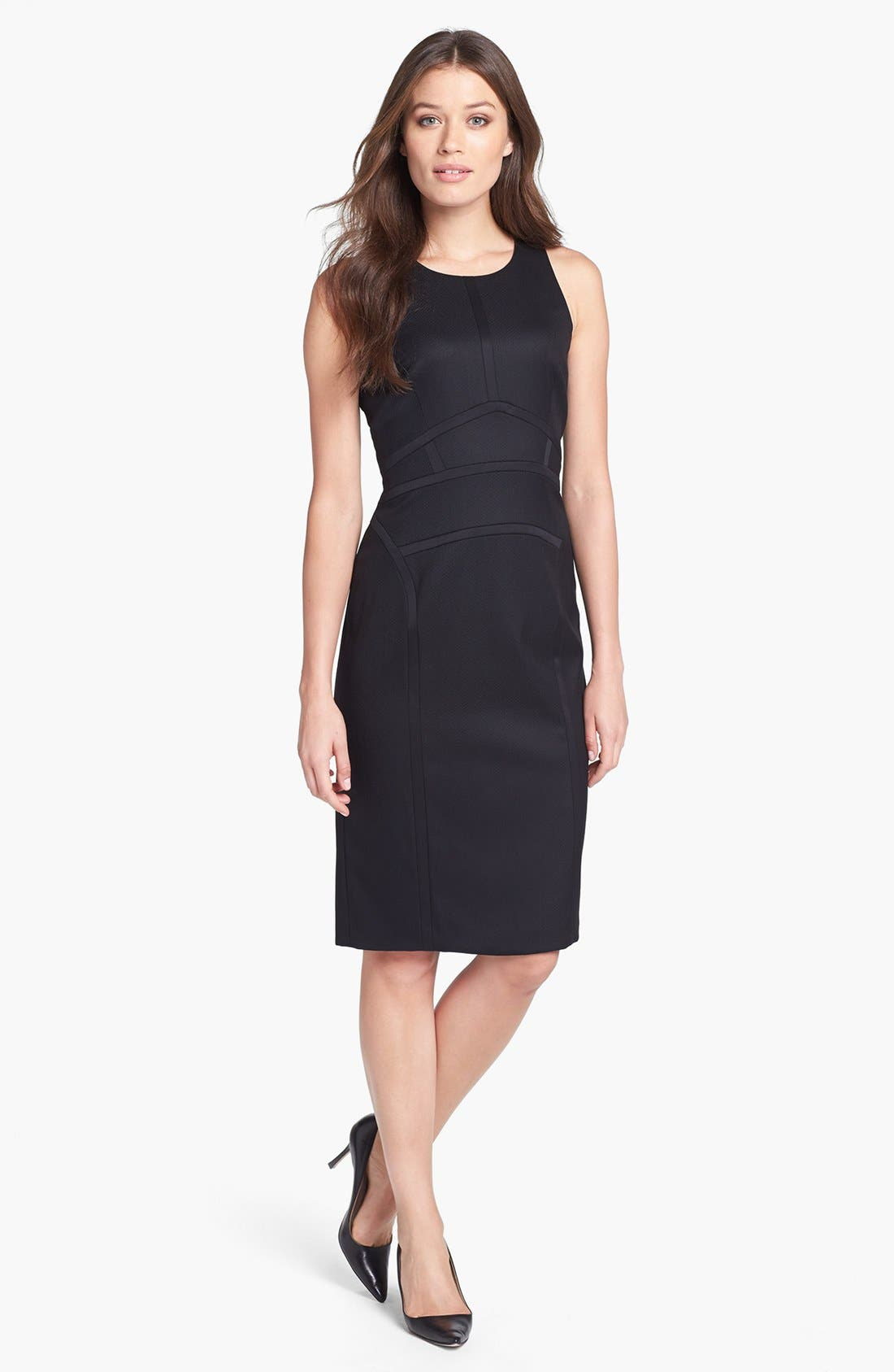 Alternate Image 1 Selected - BOSS HUGO BOSS 'Daliva' Sheath Dress