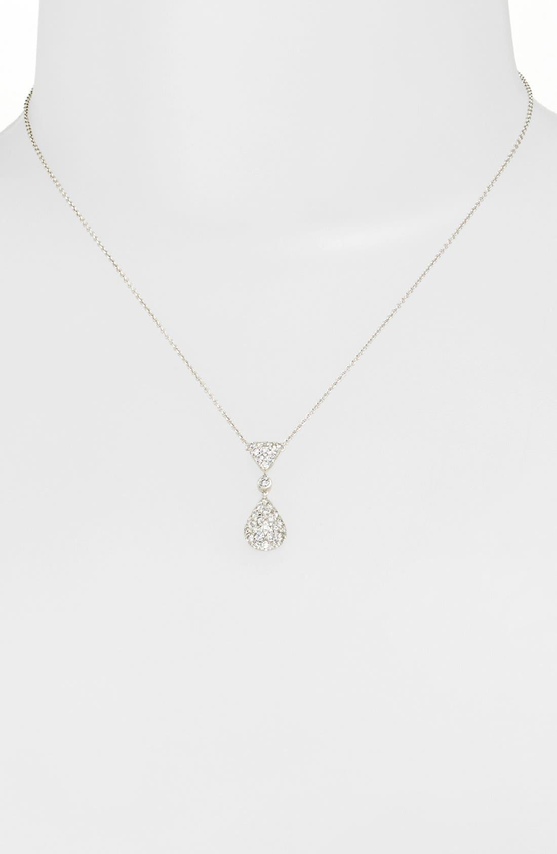 Alternate Image 1 Selected - Kwiat 'Moonrise' Diamond Pendant Necklace