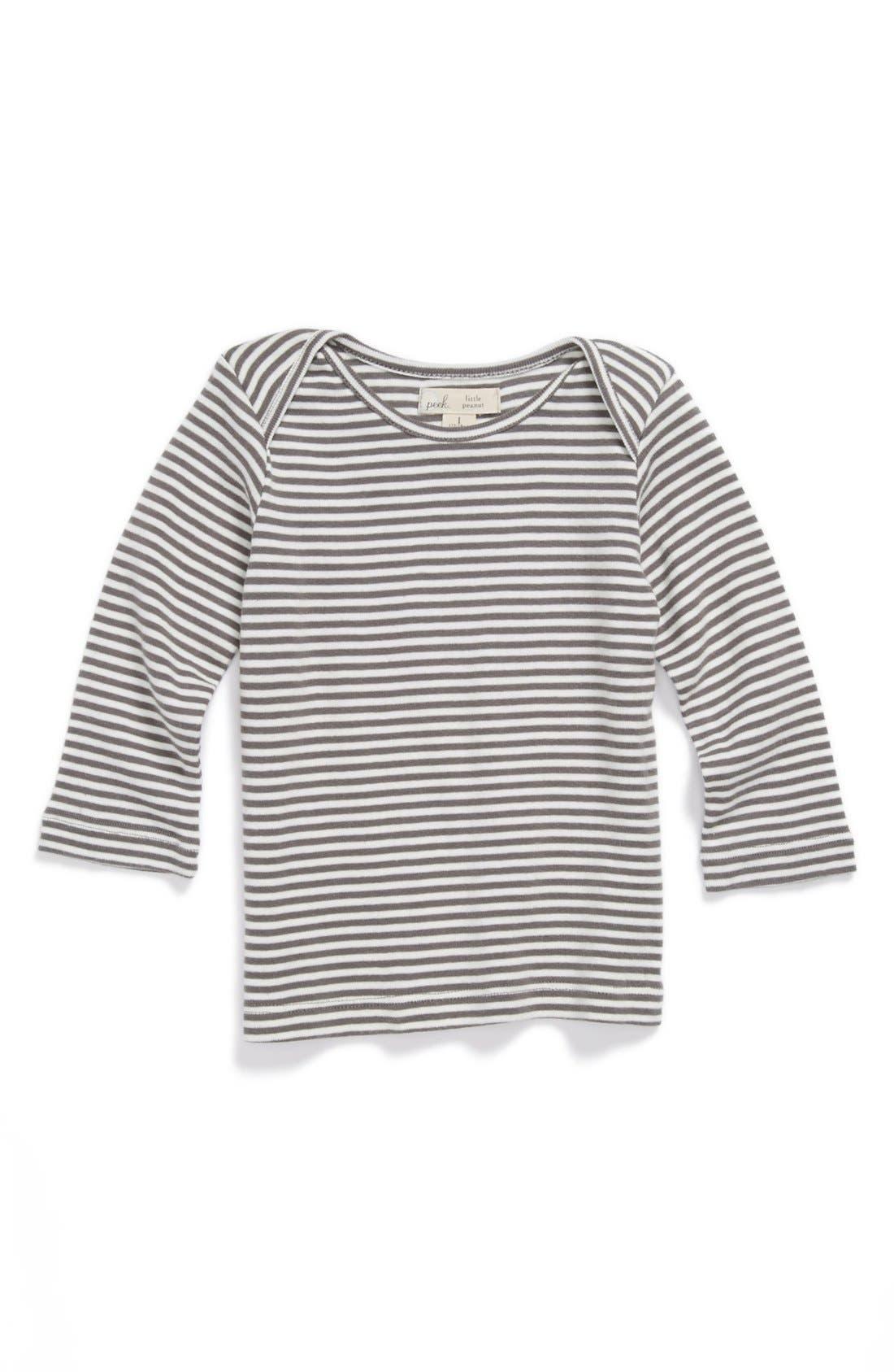 Alternate Image 1 Selected - Peek 'Little Peanut - Alphie' T-Shirt (Baby)
