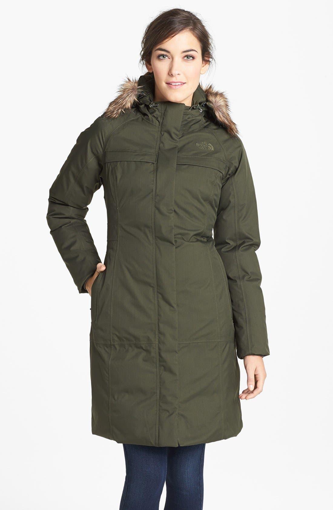 the north face womens arctic parka down jacket nordstrom. Black Bedroom Furniture Sets. Home Design Ideas