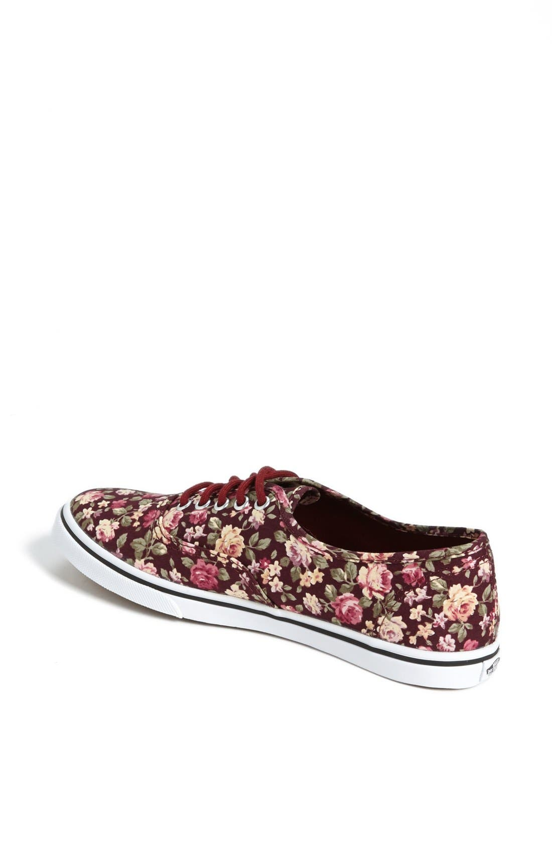 Alternate Image 2  - Vans 'Authentic Lo Pro - Floral' Sneaker (Women)