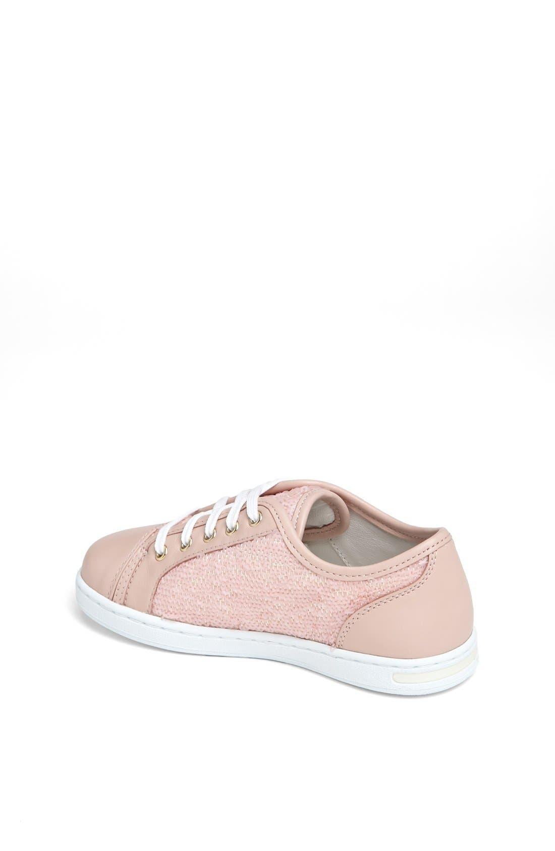 Alternate Image 2  - Dolce&Gabbana Sequin Sneaker (Toddler & Little Kid)