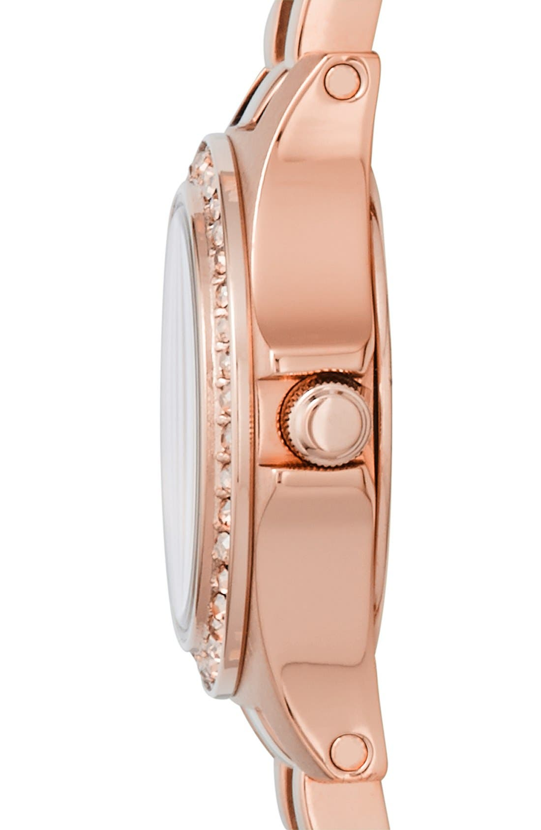 Alternate Image 3  - MARC JACOBS 'Henry Dinky' Crystal Bracelet Watch, 21mm