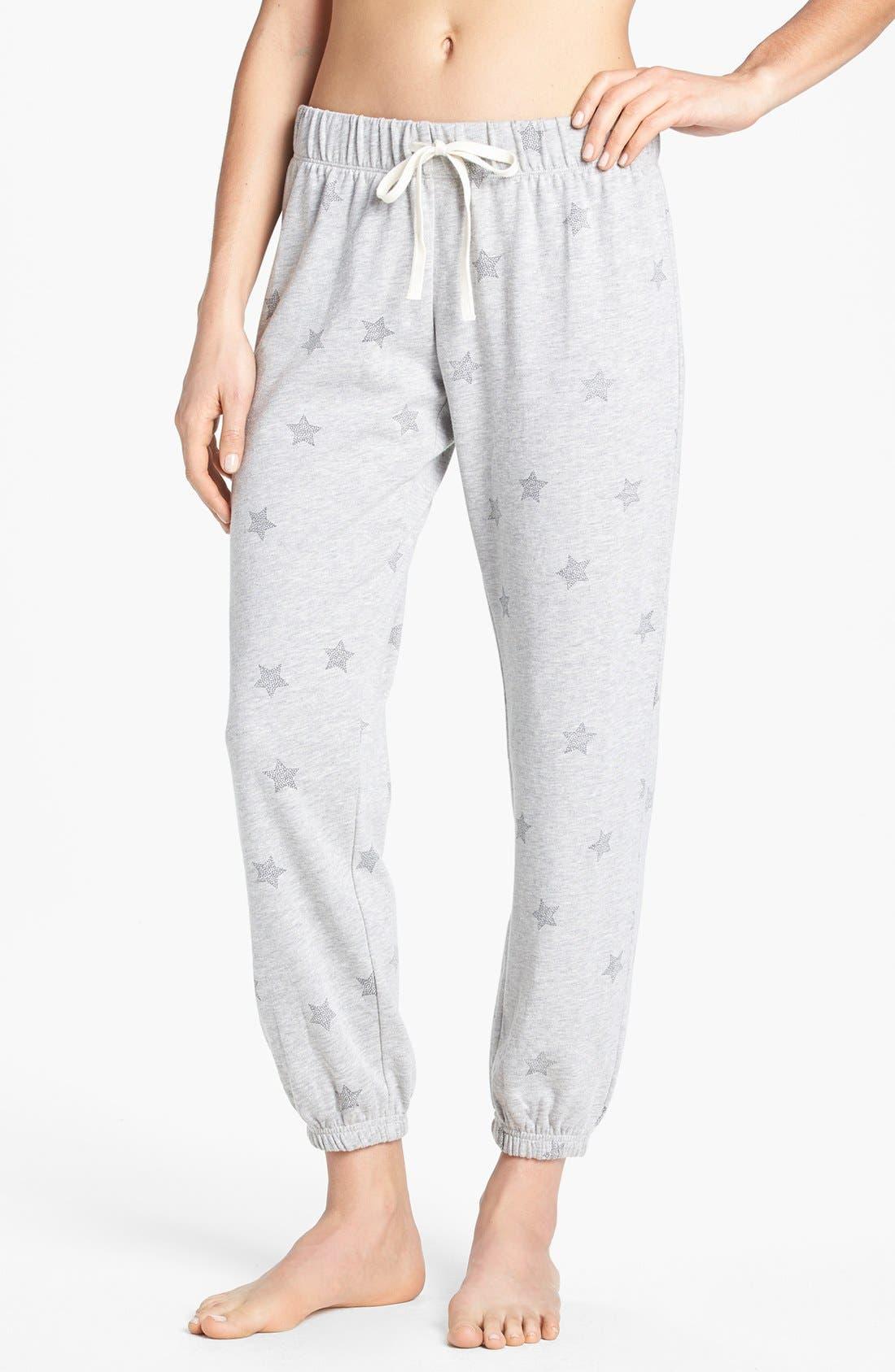 Main Image - Make + Model 'Jogger' Fleece Pants