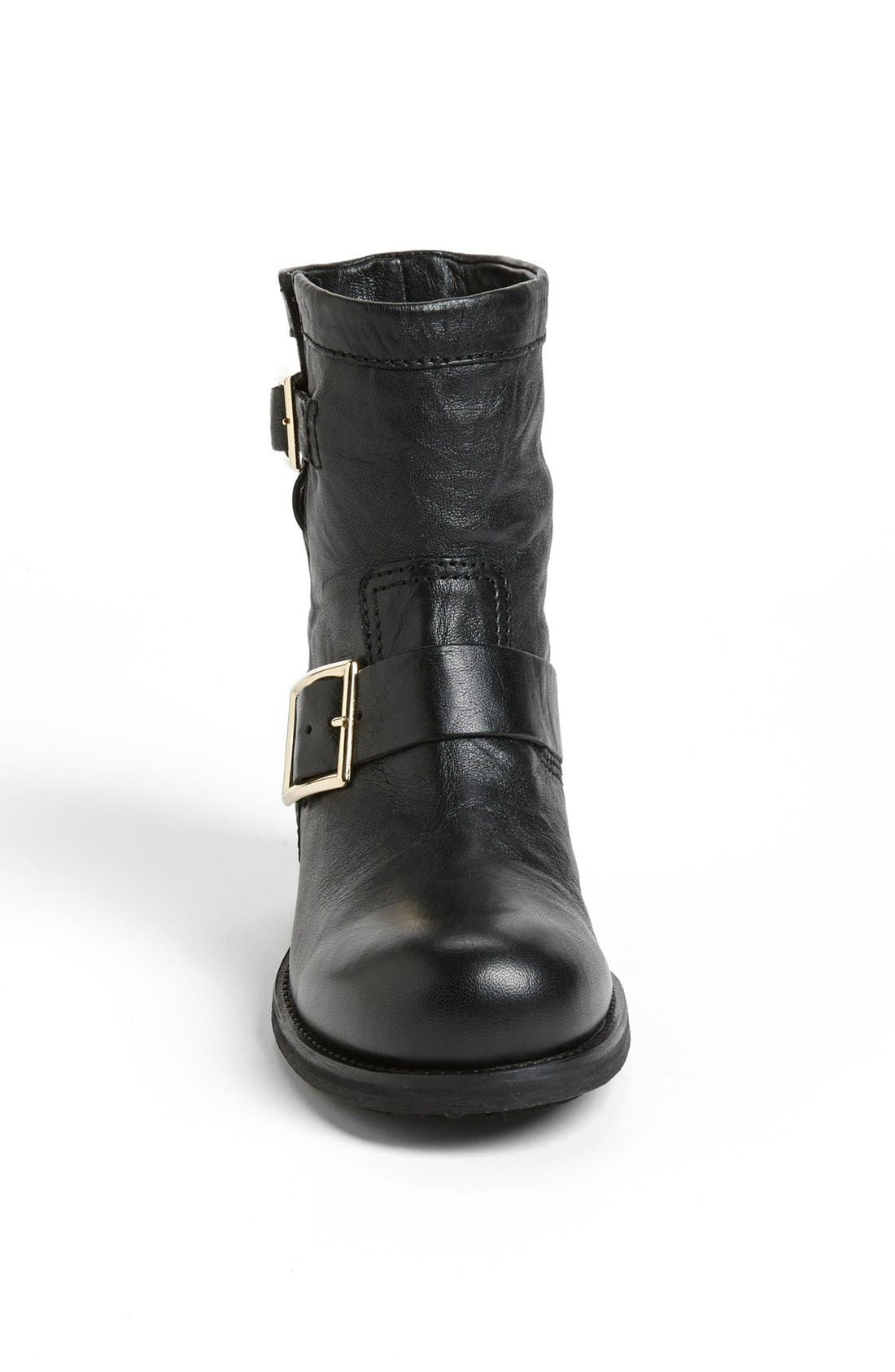 Alternate Image 3  - Jimmy Choo 'Youth' Short Biker Boot