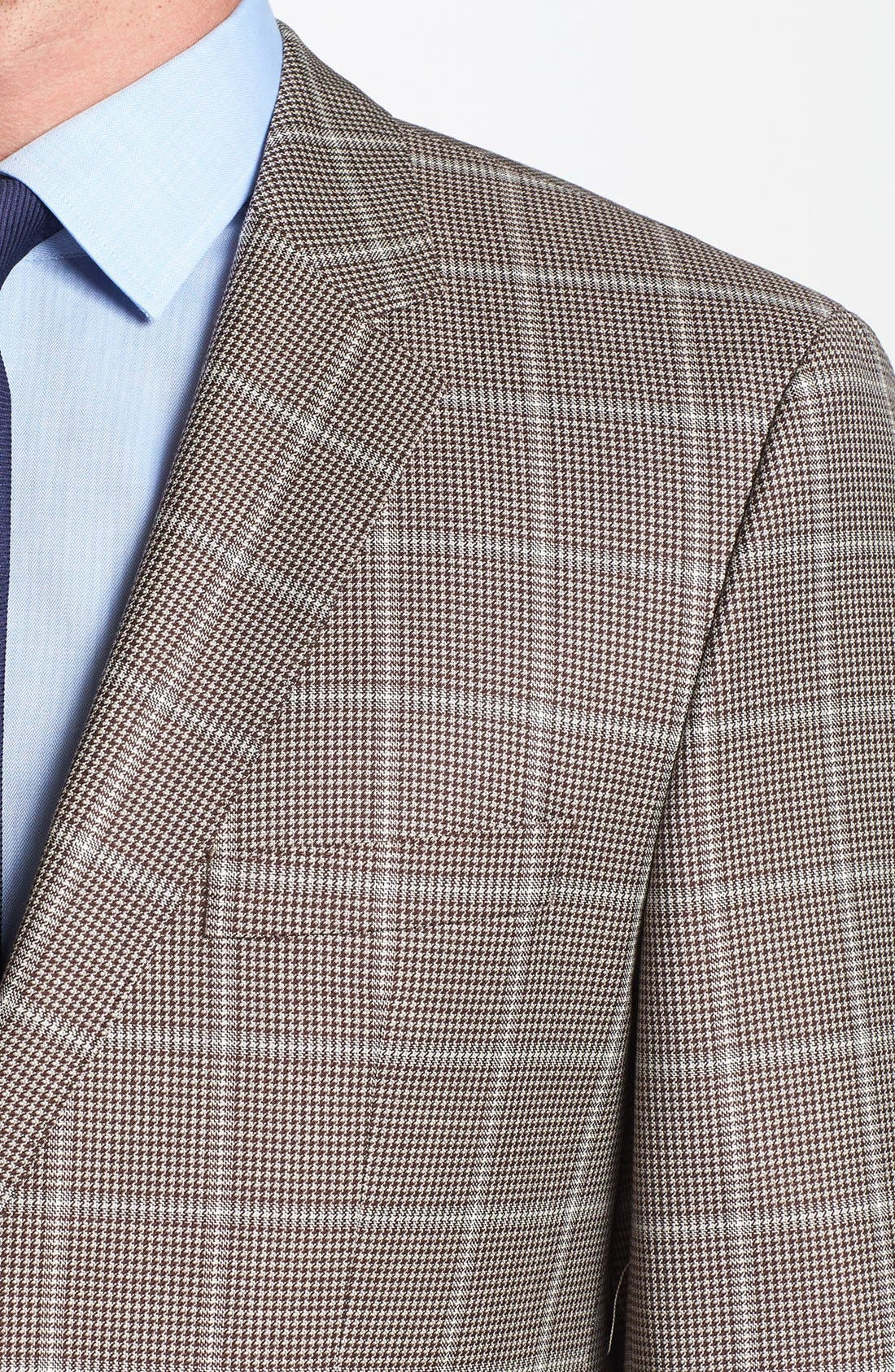 Alternate Image 3  - BOSS HUGO BOSS 'The Smith' Trim Fit Plaid Sportcoat