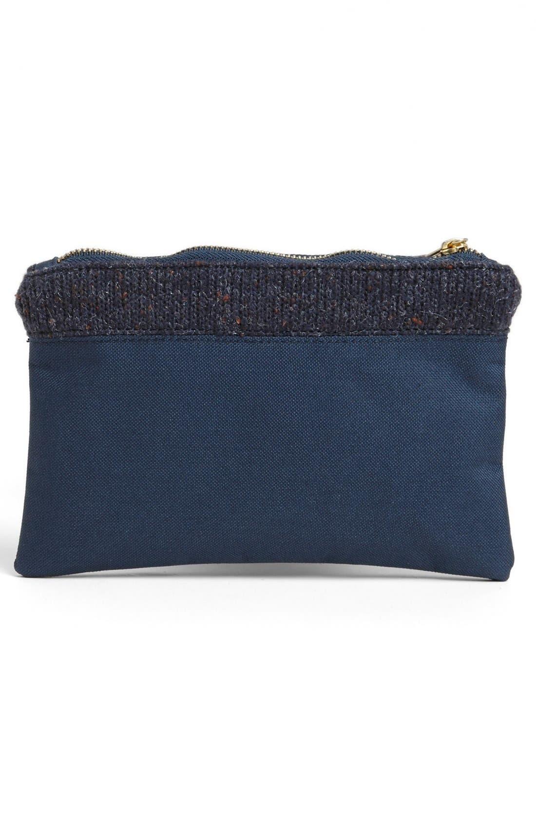 Alternate Image 3  - Herschel Supply Co. Knit Trim Field Pouch
