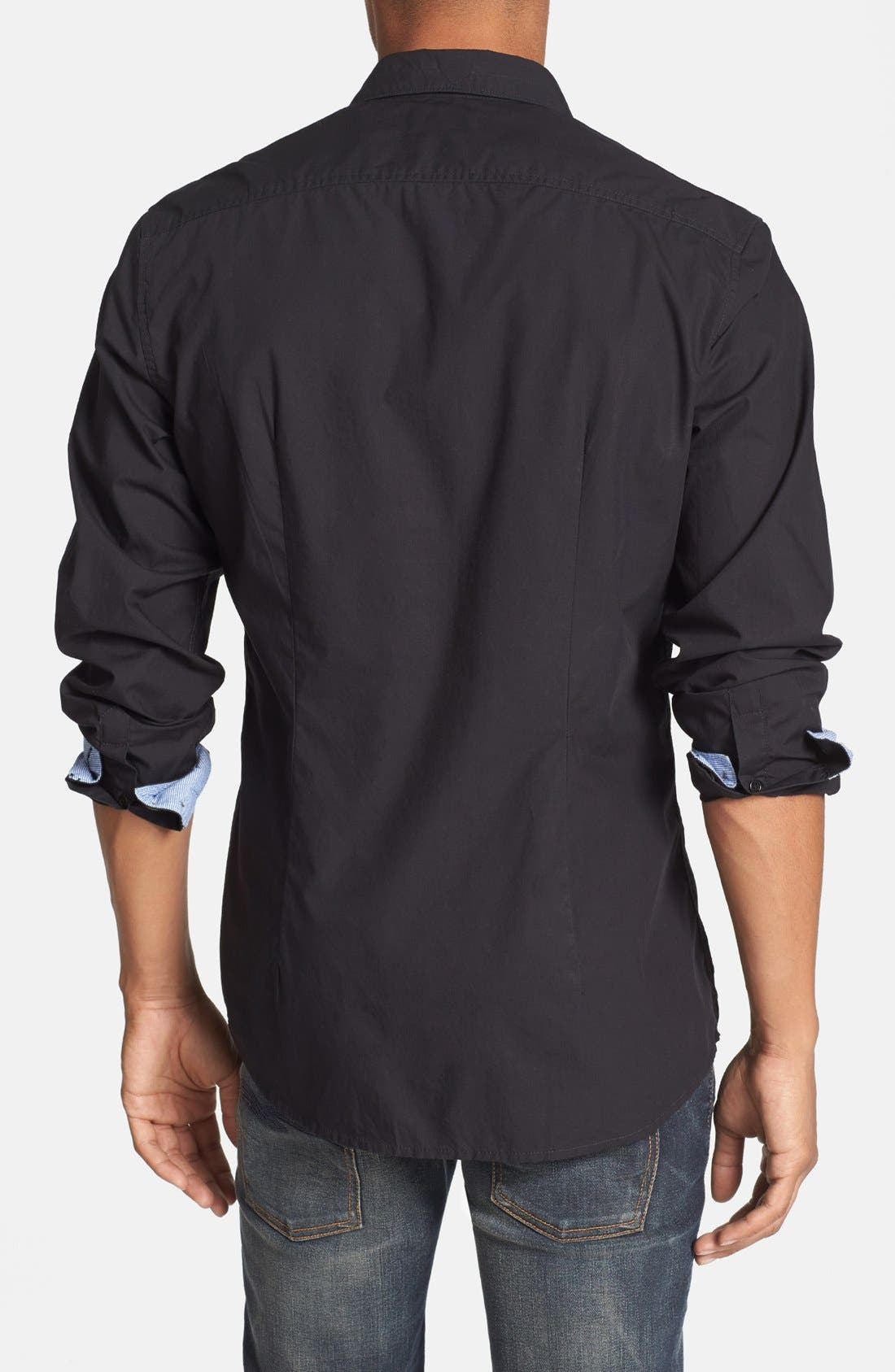 Alternate Image 2  - DIESEL® 'Mirtilla' Long Sleeve Sport Shirt